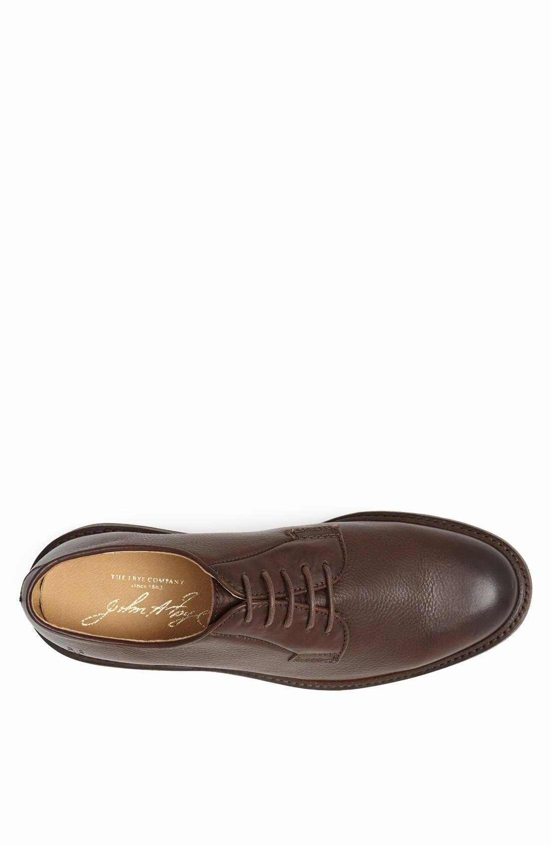 Alternate Image 3  - Frye 'James' Plain Toe Derby