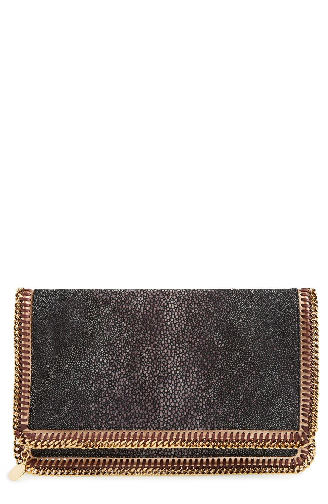 Alternate Image 1 Selected - Stella McCartney 'Falabella' Faux Stingray Clutch