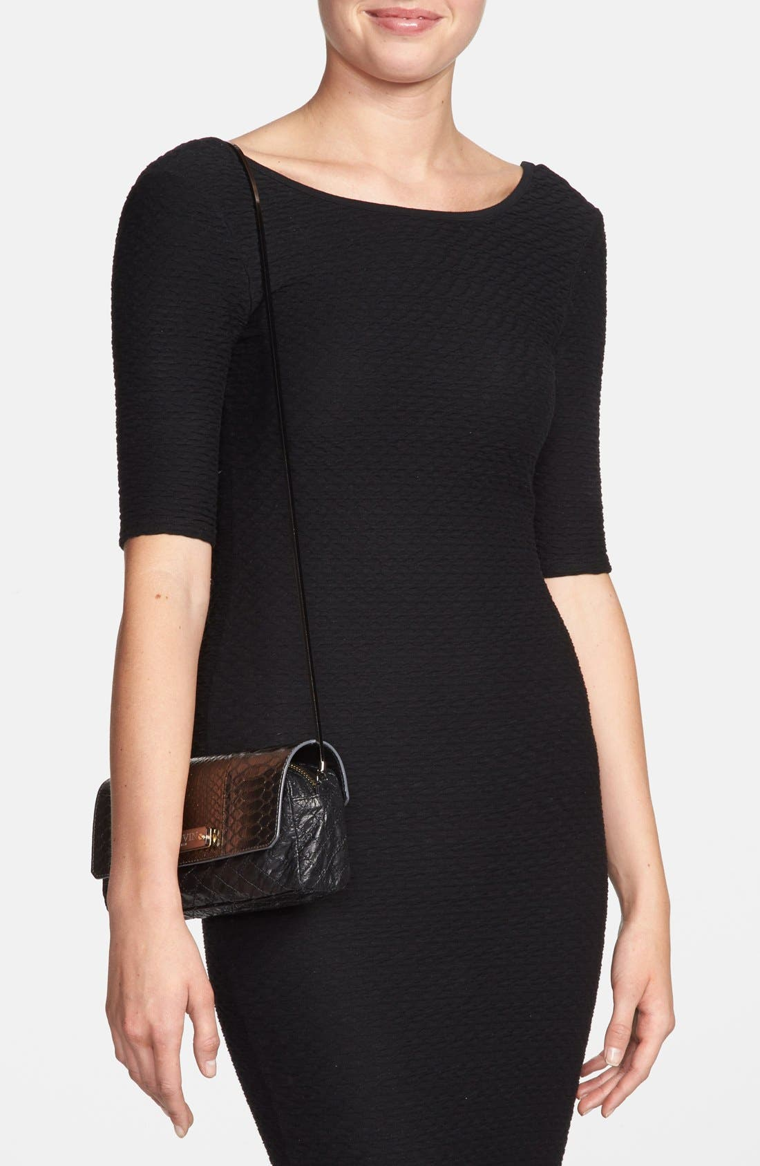 Alternate Image 2  - Lanvin 'Small Paper Bag' Lambskin Shoulder Bag