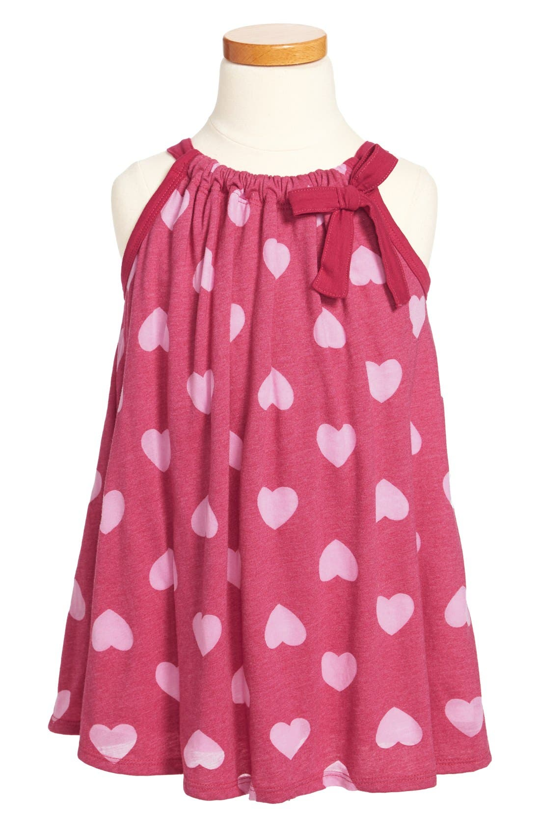 Alternate Image 1 Selected - Red Wagon Baby Print Dress (Little Girls)