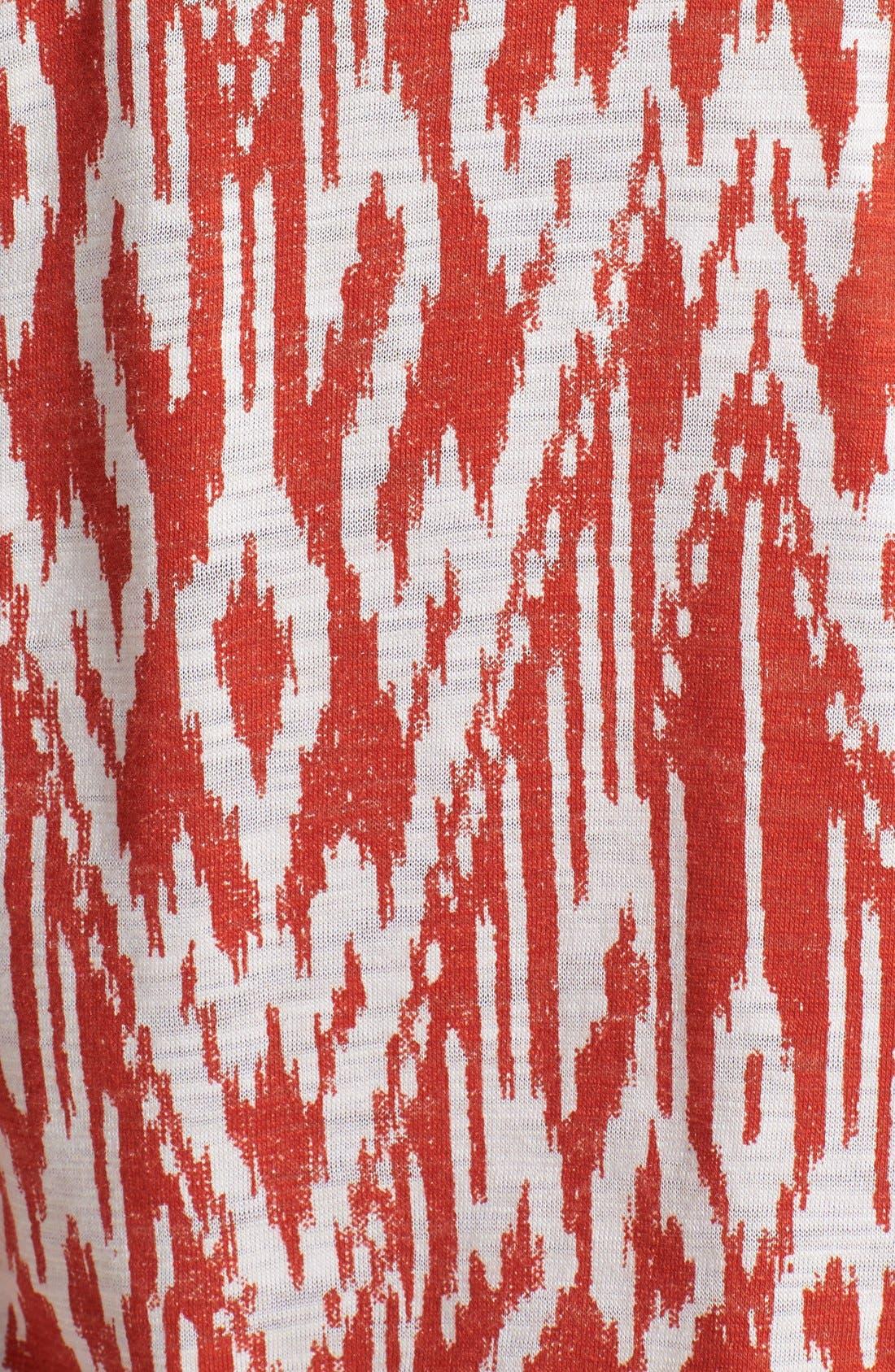 Alternate Image 3  - Soft Joie Print Ruched Skirt Minidress
