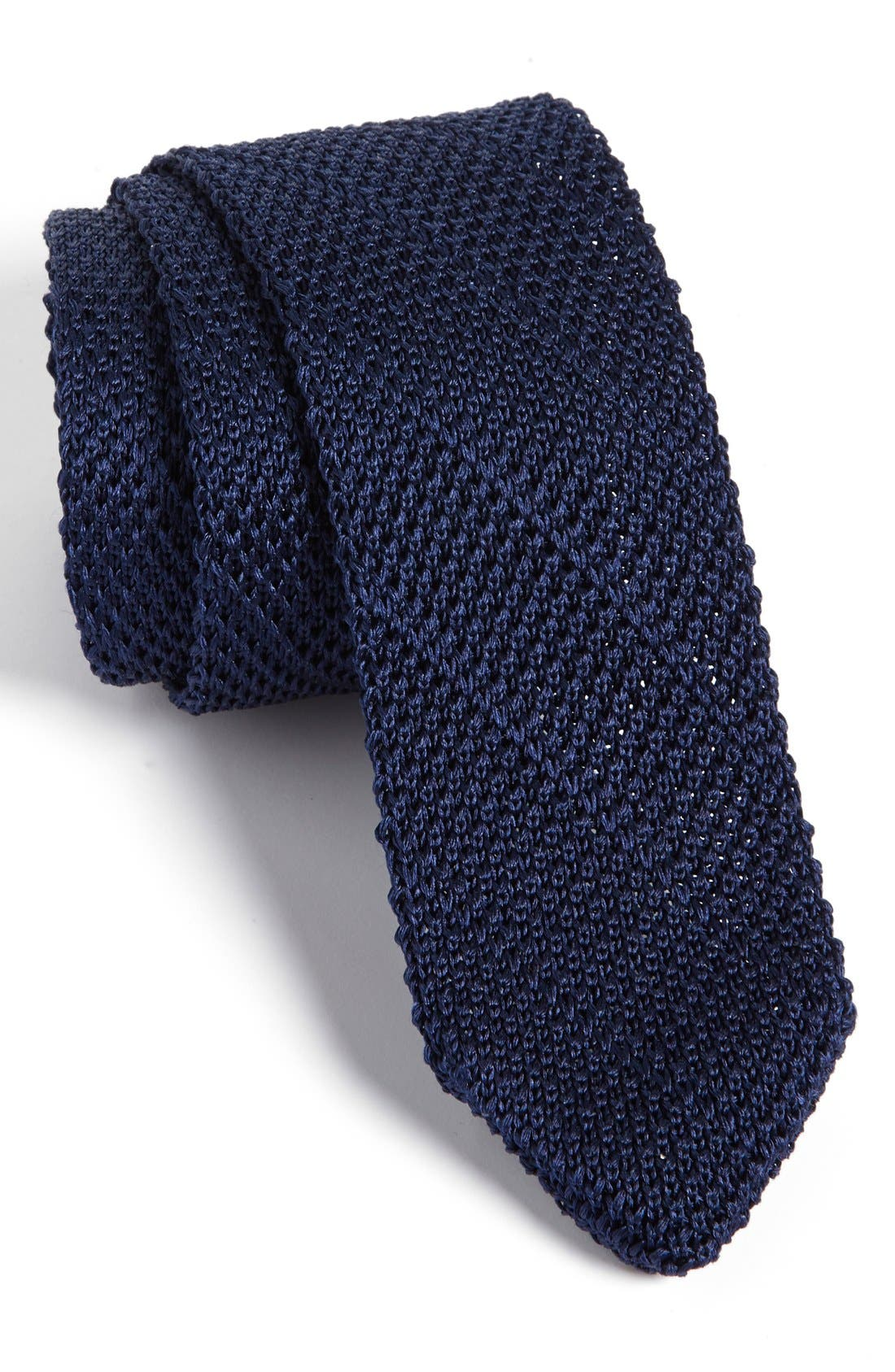 Main Image - Calibrate Knit Silk Tie