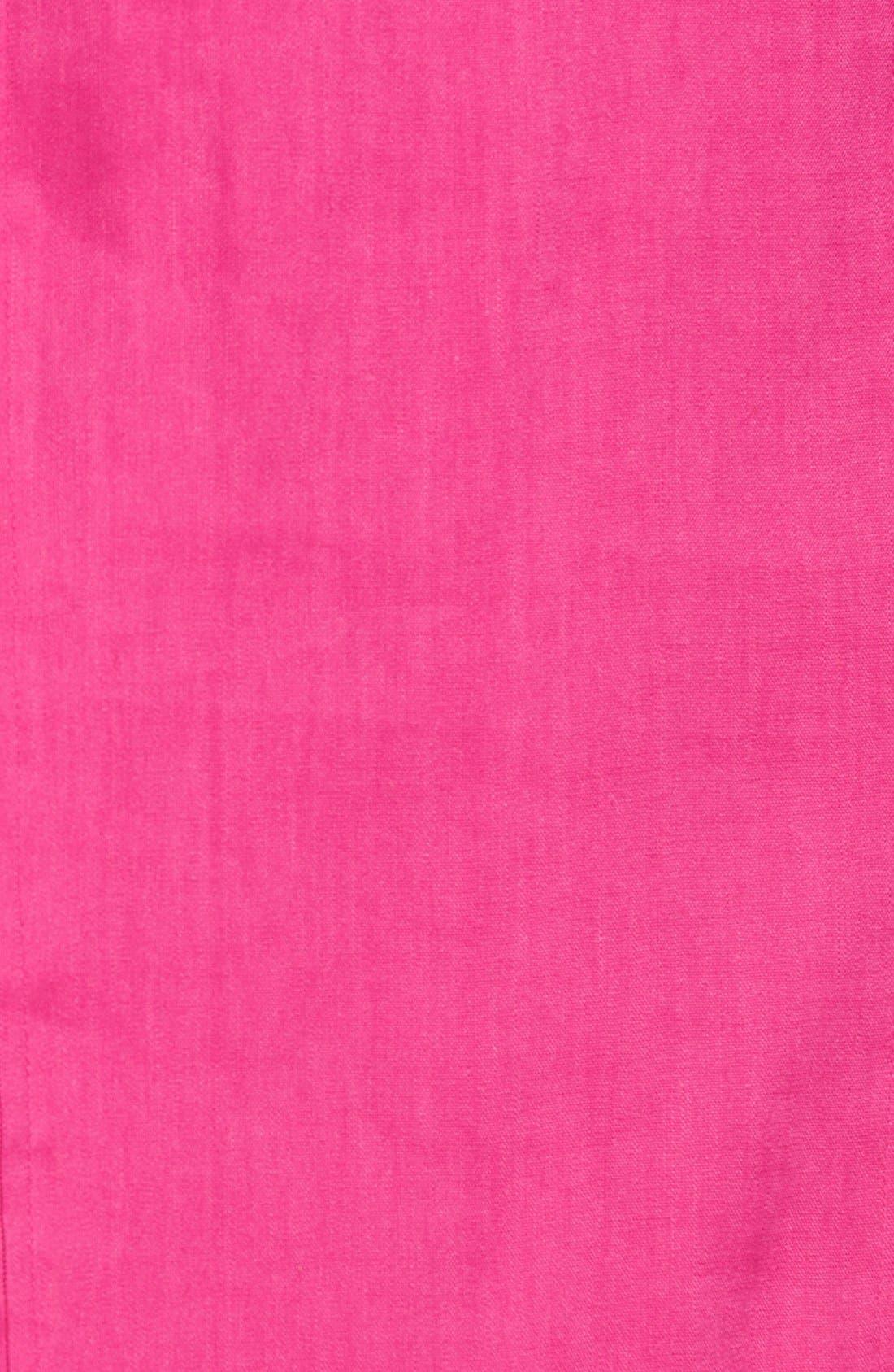 Alternate Image 3  - Halogen® Linen Blend Pencil Skirt (Regular & Petite)