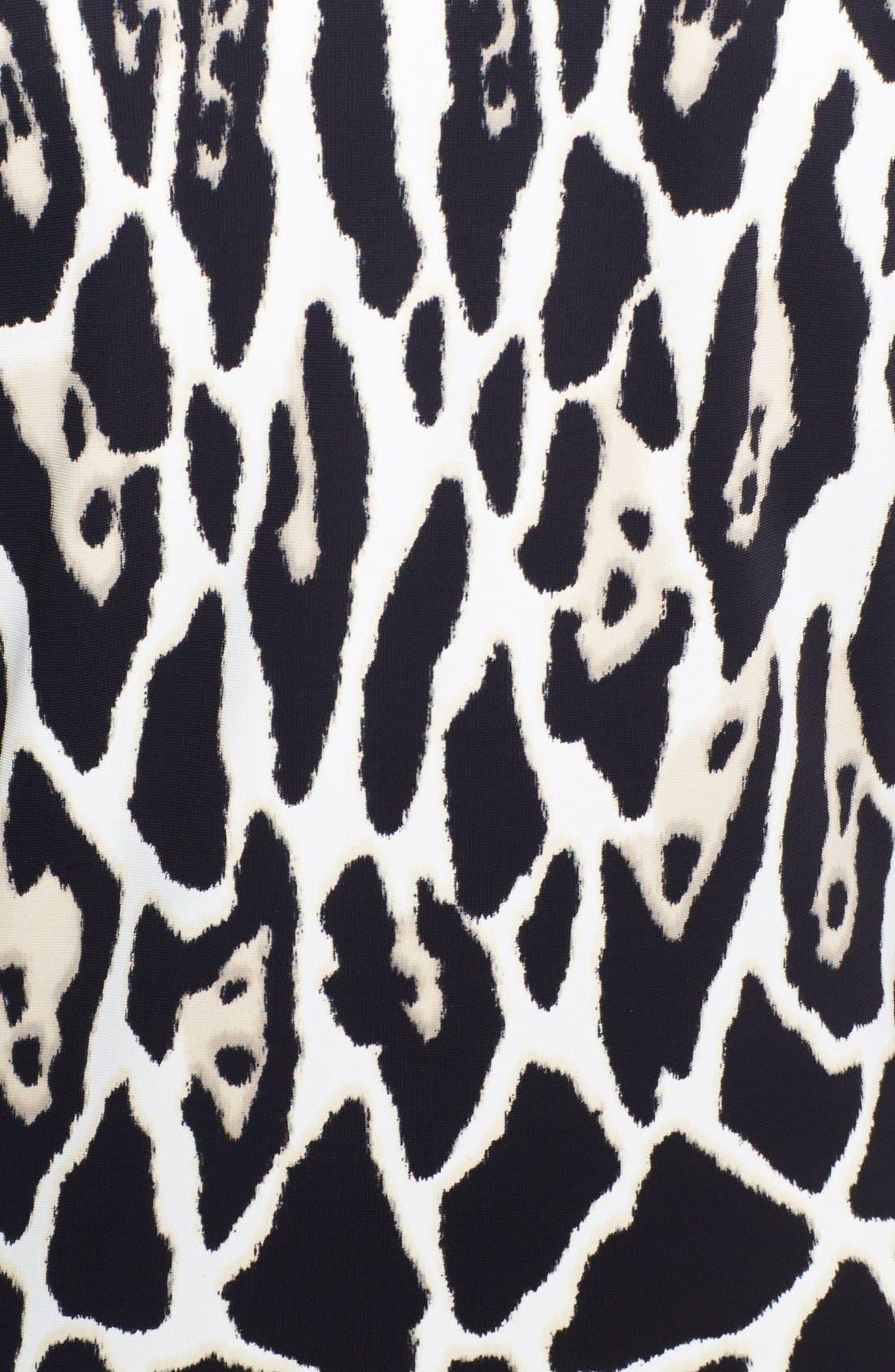 Alternate Image 3  - Roberto Cavalli V-Neck Animal Print Dress