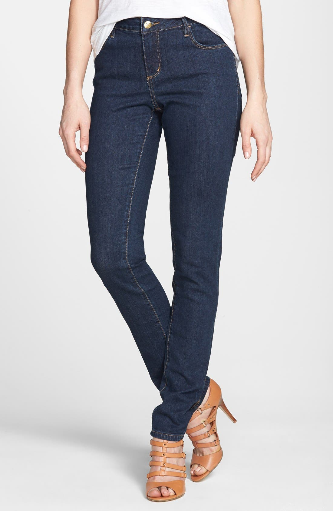 Main Image - Christopher Blue 'Sophia' Stretch Skinny Jeans