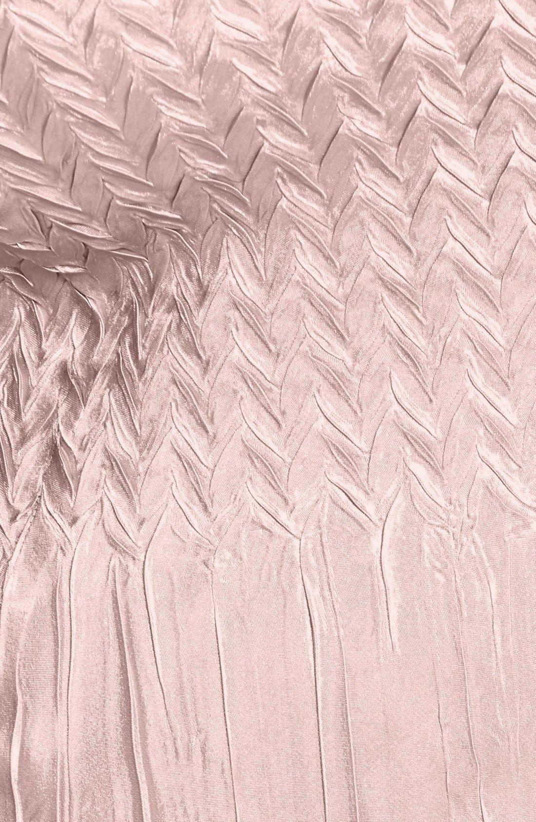 Alternate Image 3  - Komarov Embellished Square Neck Chiffon & Charmeuse Dress (Plus Size)