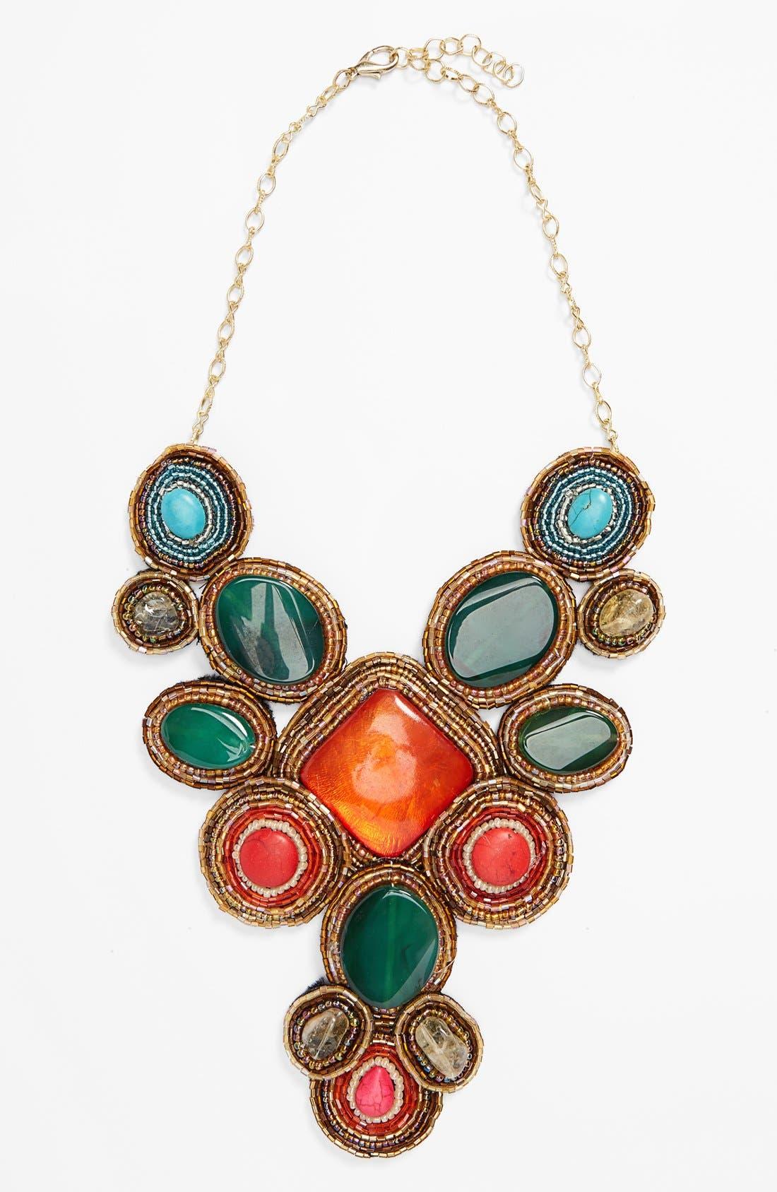 Main Image - Tasha 'Beads of Glory' Collar Necklace