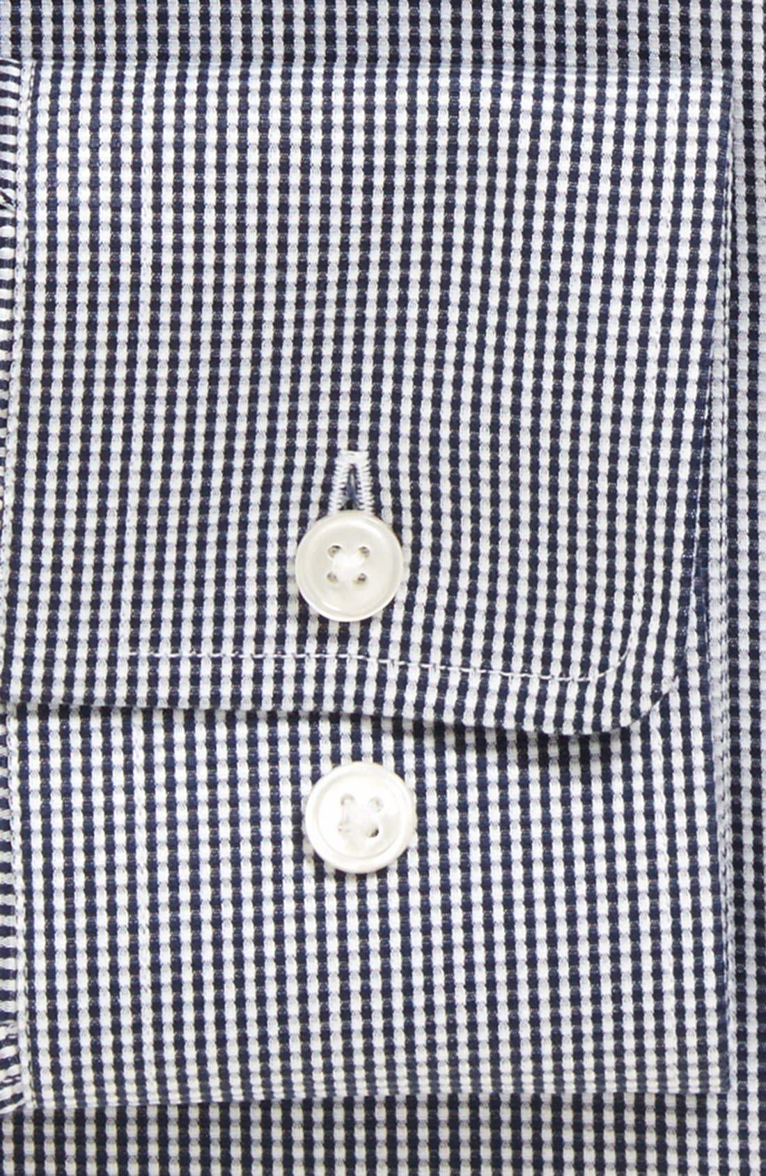 Alternate Image 4  - BOSS 'Miles' Sharp Fit Check Dress Shirt