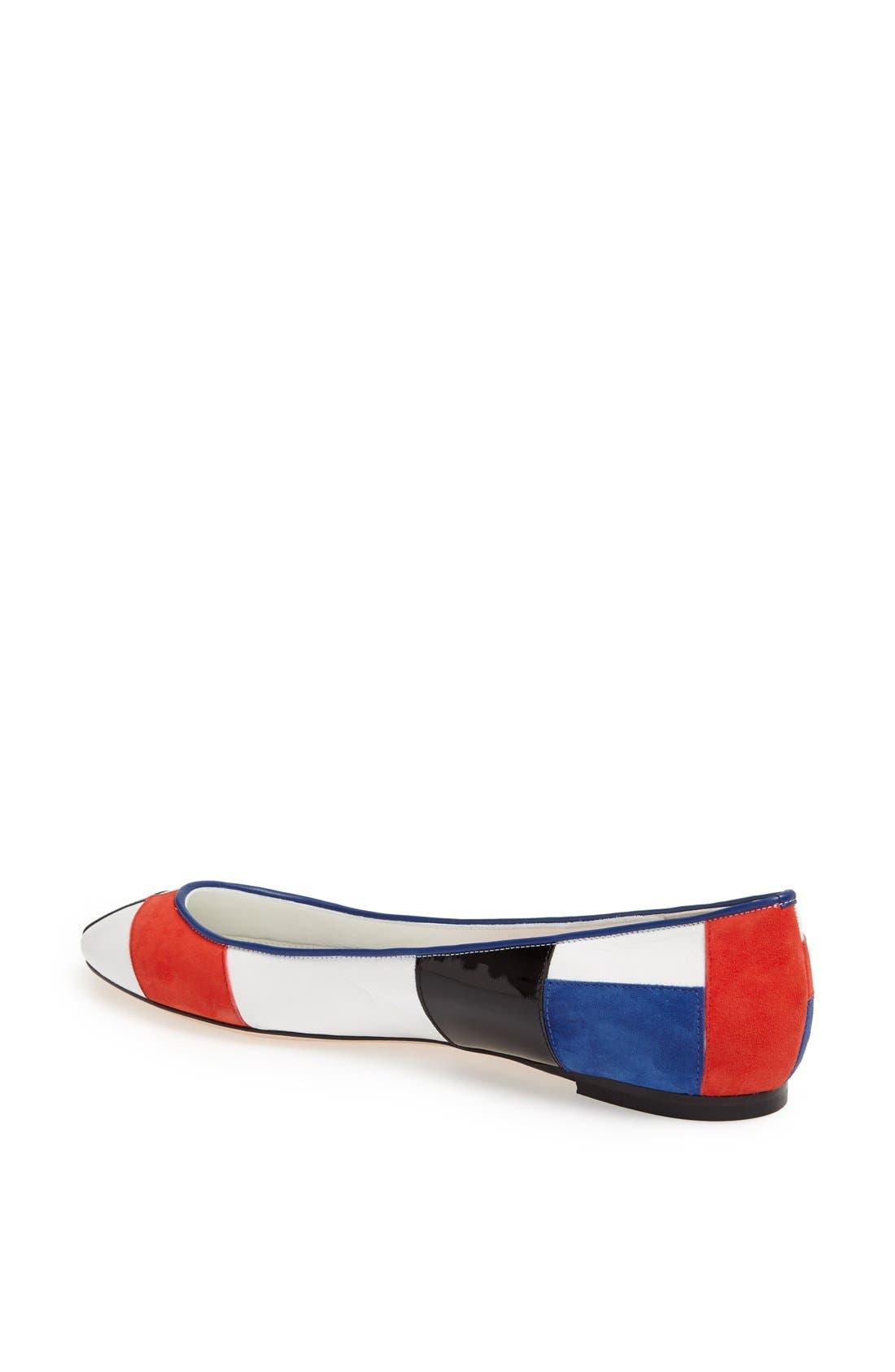 Alternate Image 2  - Alexander McQueen 'Mondrian' Ballet Flat