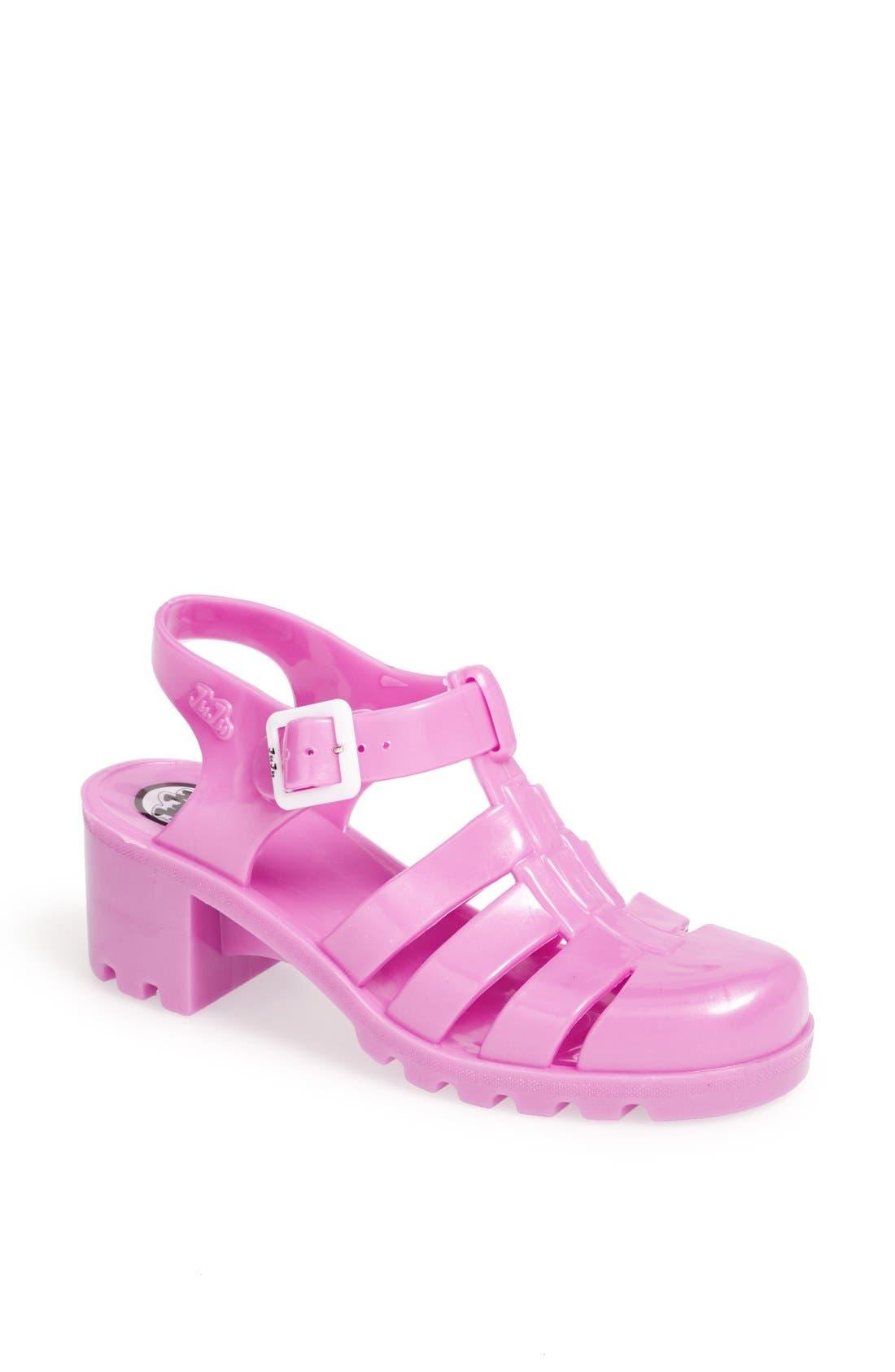 Main Image - Topshop 'Nina' Jelly Sandal