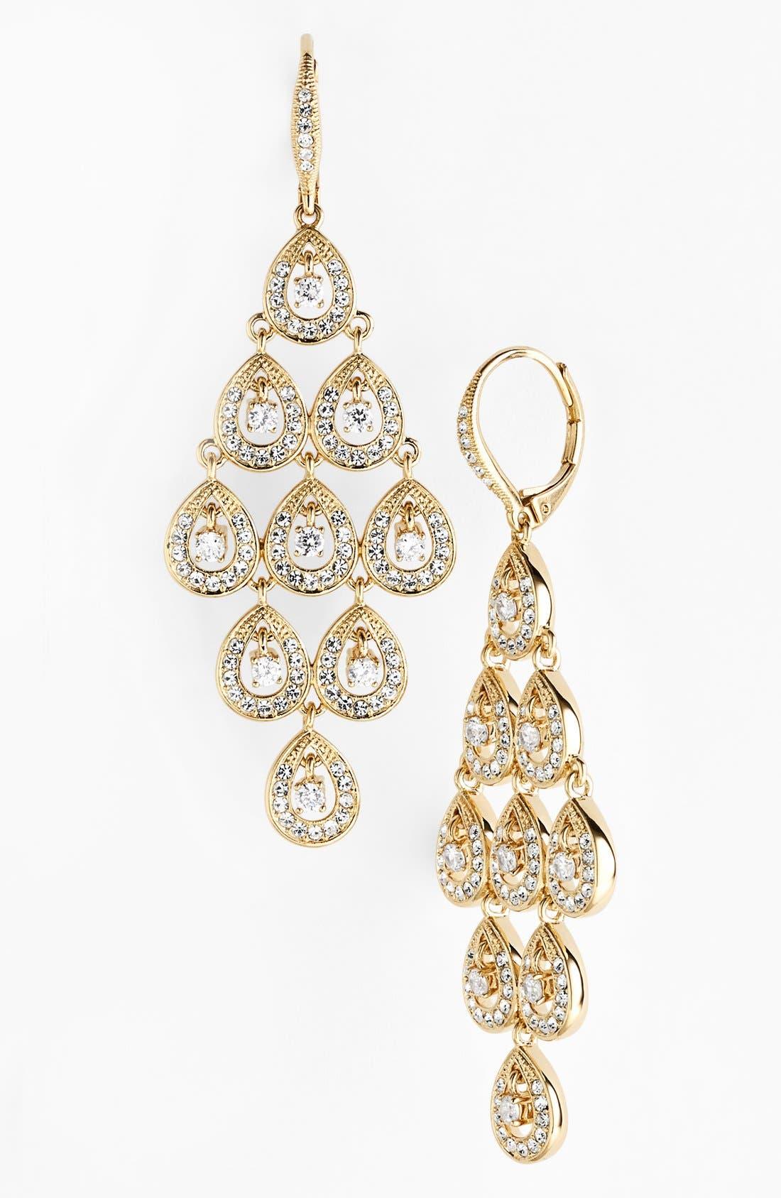 Alternate Image 1 Selected - Nadri Chandelier Earrings