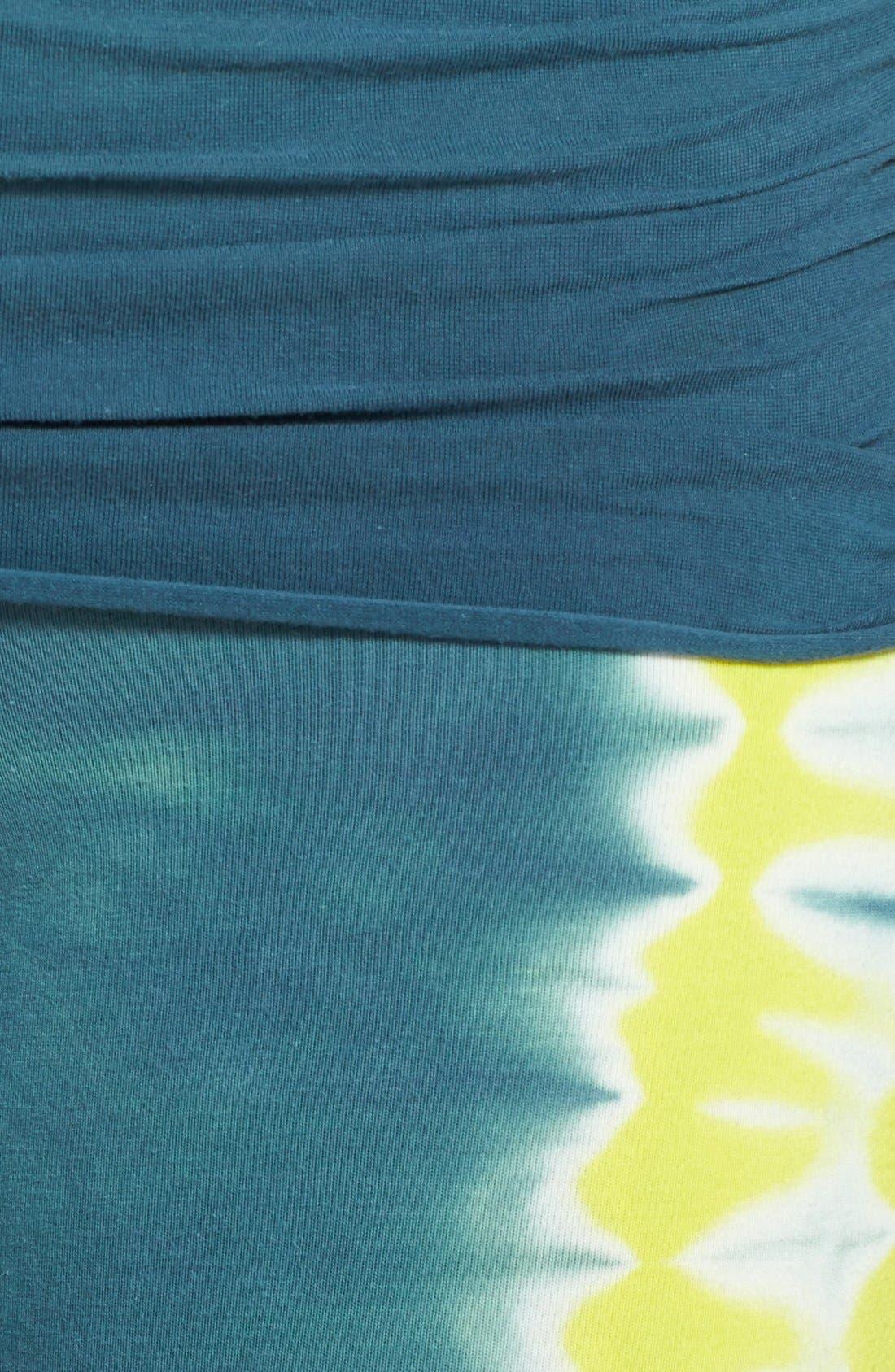 Alternate Image 3  - Omgirl 'Free Stripe Ahimsa' Organic Cotton Capri Leggings