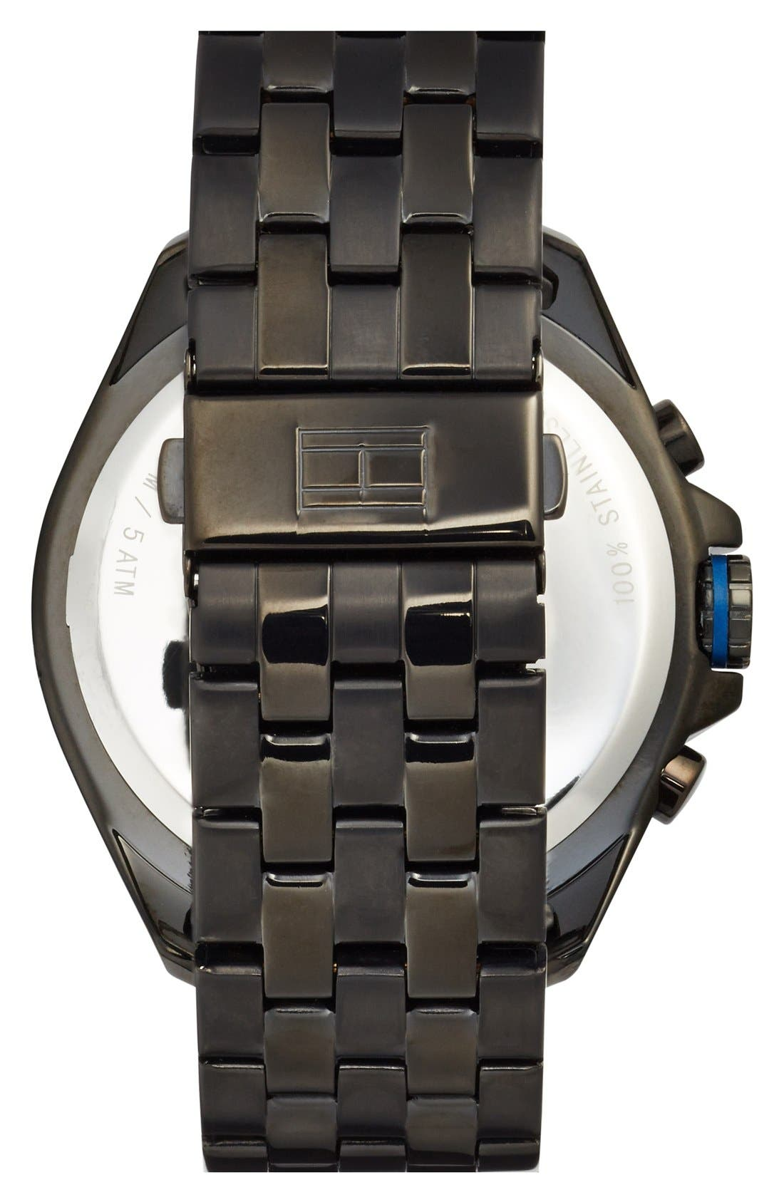 Alternate Image 2  - Tommy Hilfiger Multifunction Bracelet Watch, 47mm