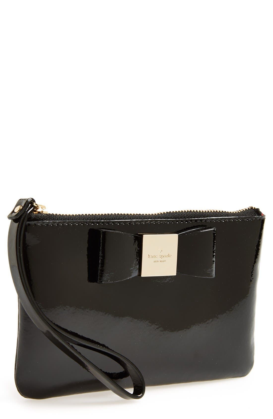 Alternate Image 1 Selected - kate spade new york 'veranda place - bee' patent leather wallet
