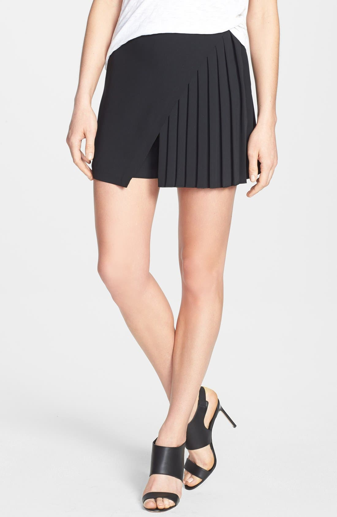 Alternate Image 1 Selected - Clover Canyon Pleated Skort