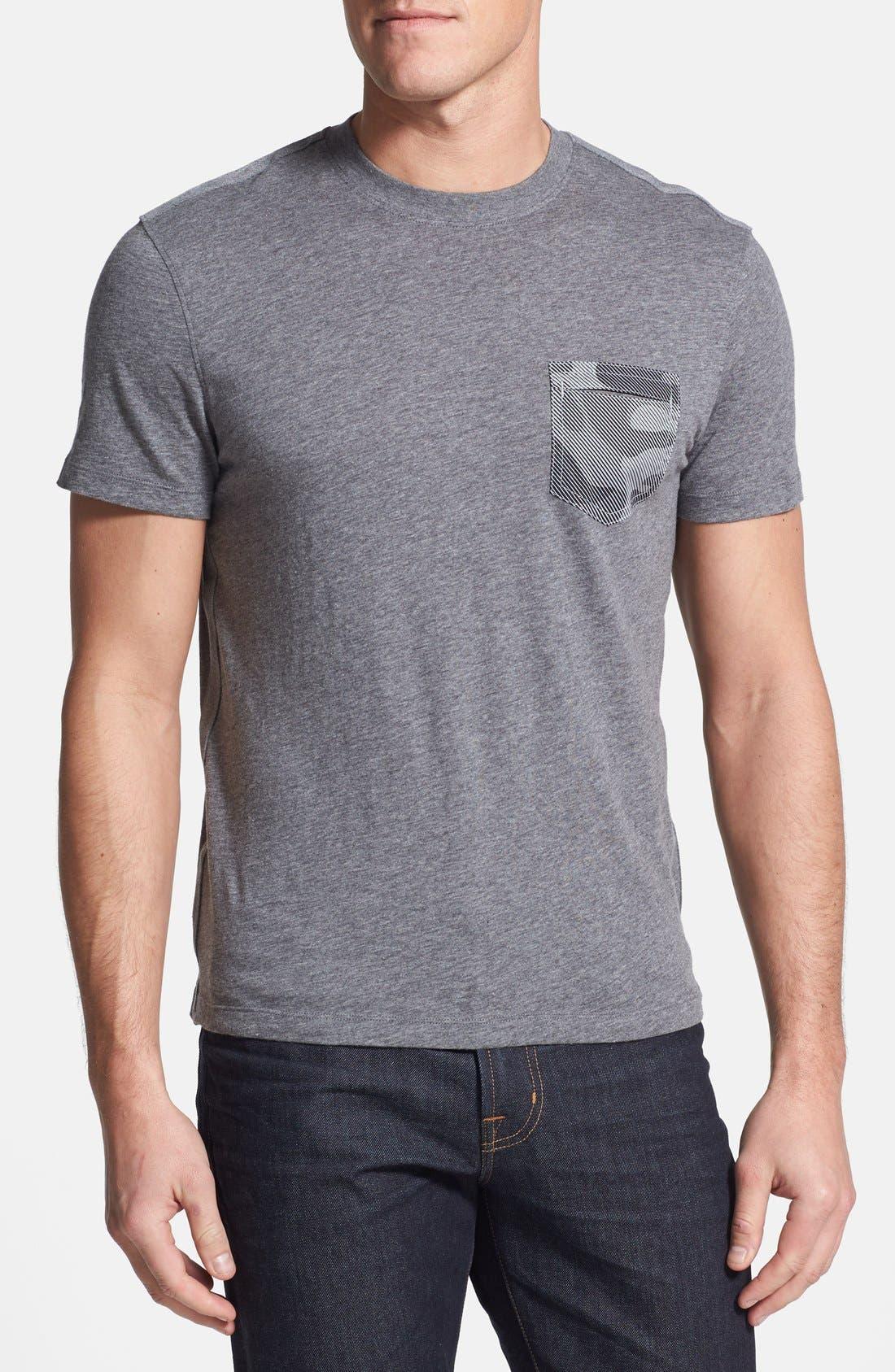 Alternate Image 1 Selected - Michael Kors Camo Pocket Slub T-Shirt