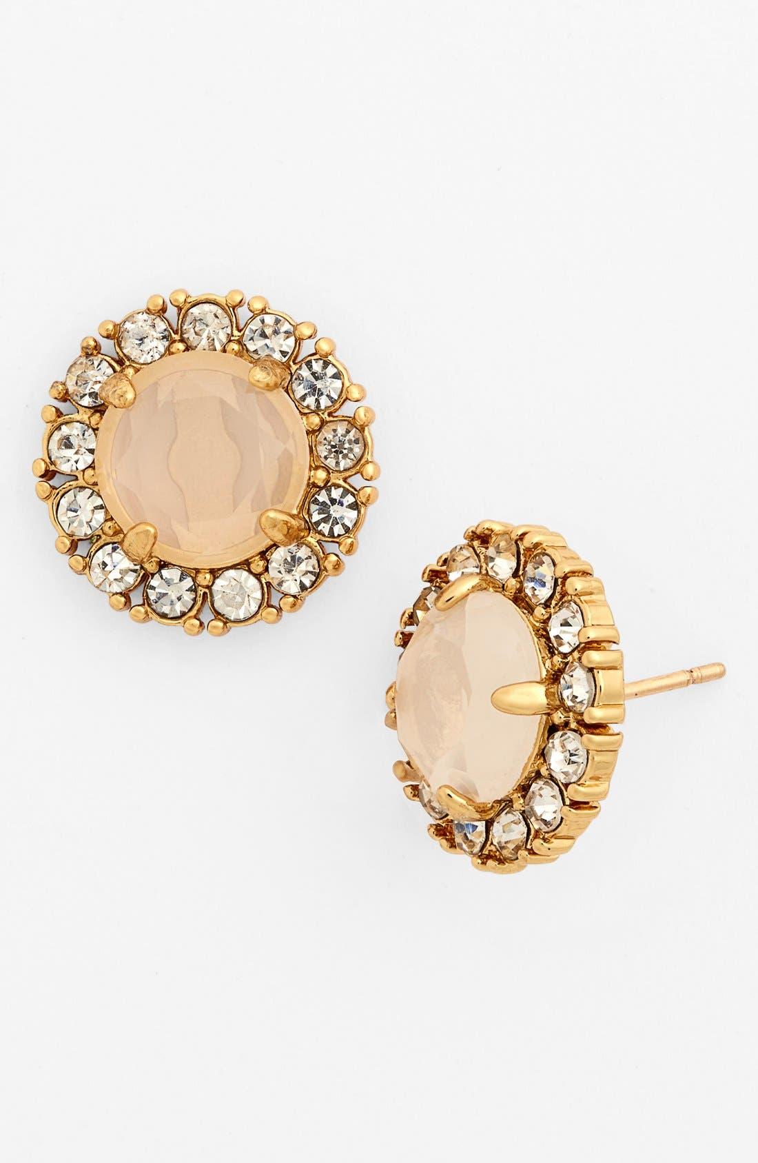 Main Image - kate spade new york 'secret garden' mixed stone stud earrings