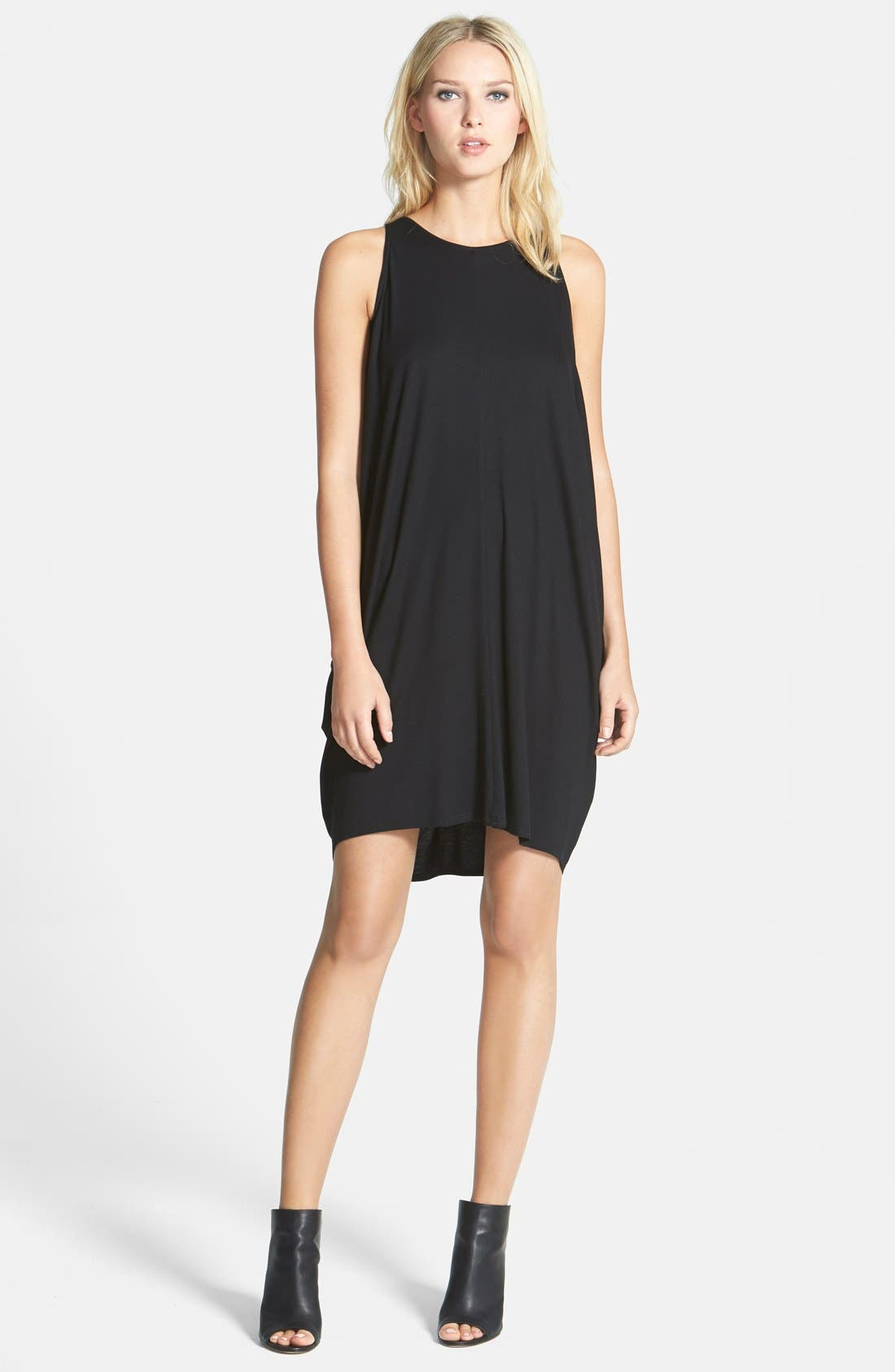 Alternate Image 1 Selected - Eileen Fisher Sleeveless Jersey Wedge Dress