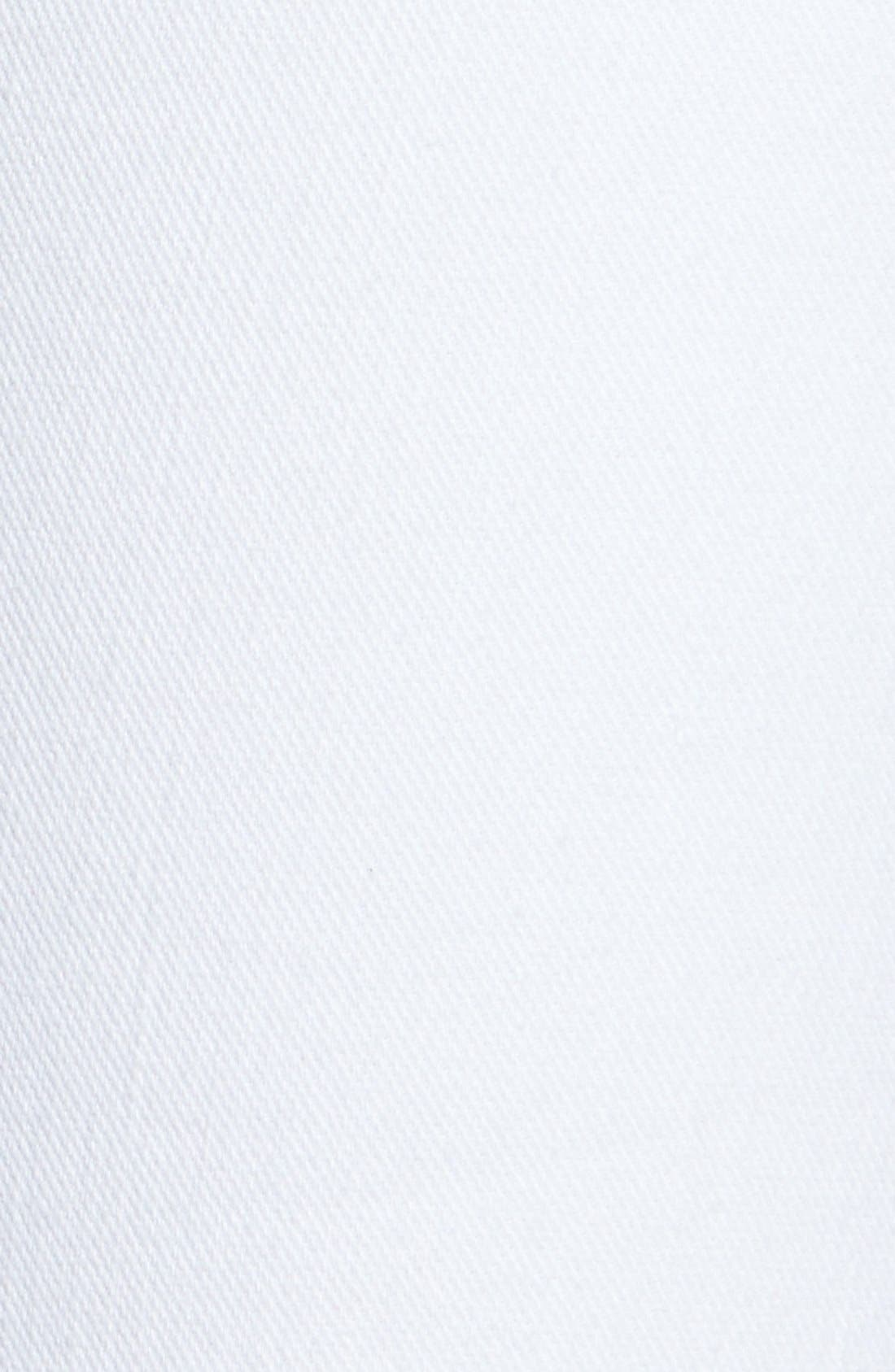 Alternate Image 3  - 7 For All Mankind® Slim Bootcut Jeans (Clean White)