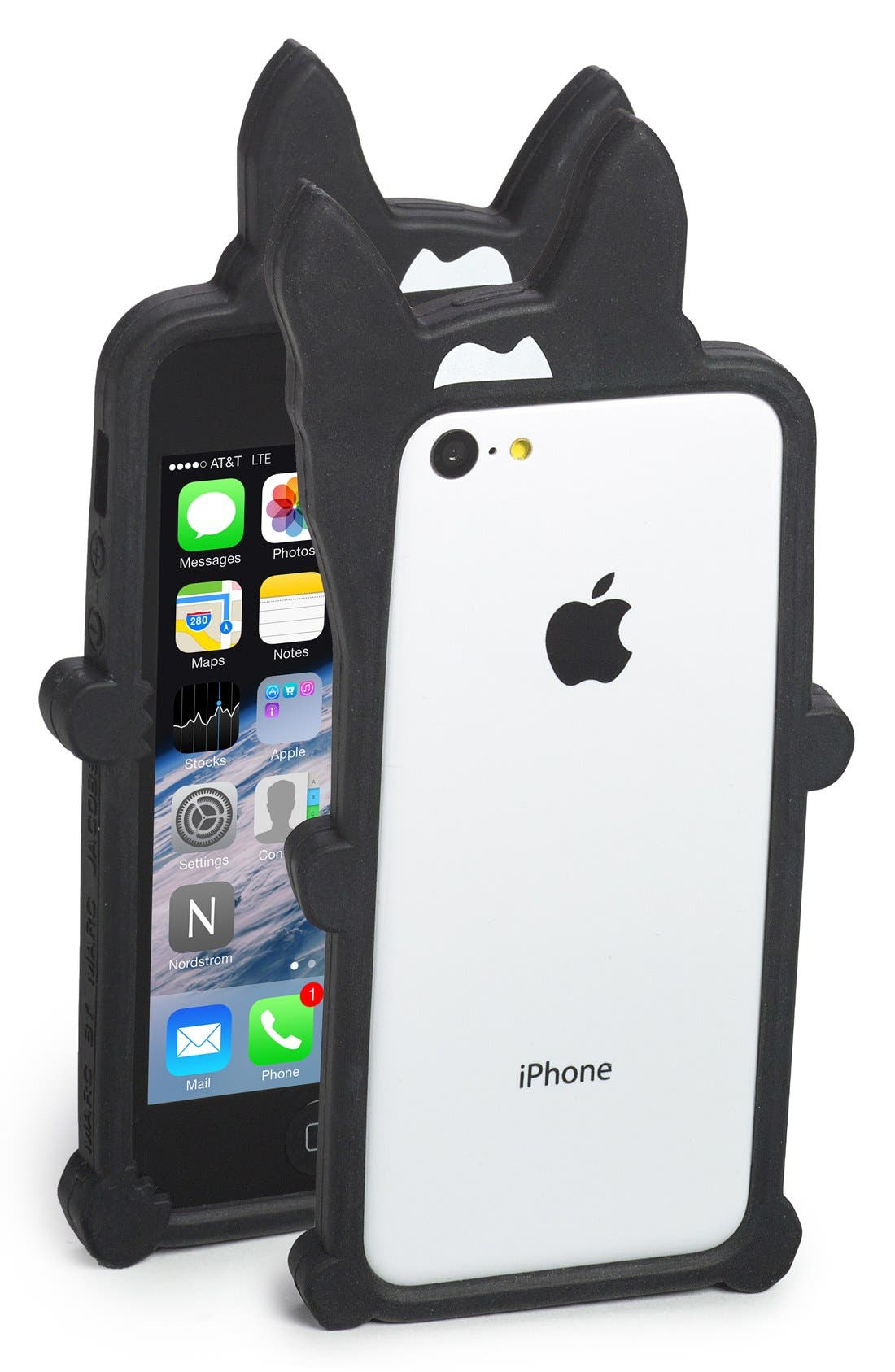 Alternate Image 1 Selected - MARC BY MARC JACOBS 'Olive Rail' iPhone 5 & 5s Bumper