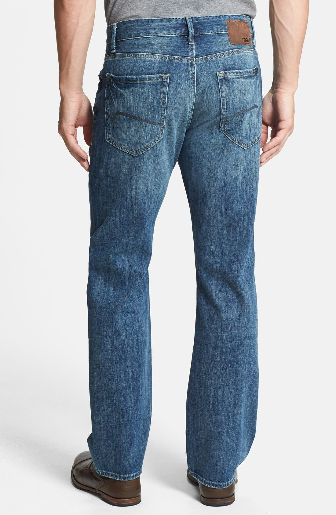 Alternate Image 2  - Mavi Jeans 'Matt' Relaxed Straight Leg Jeans (Indigo Blue) (Online Only)