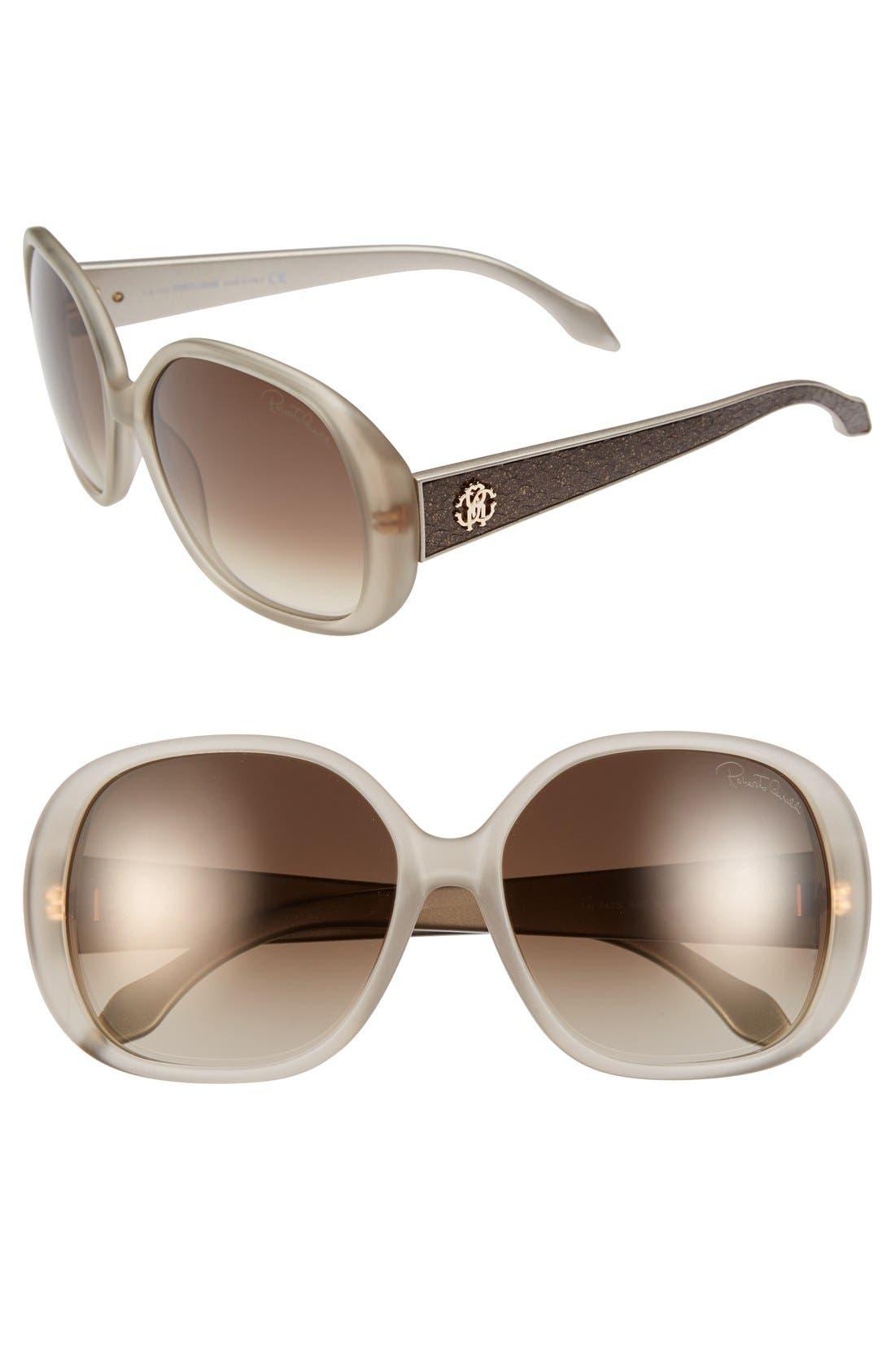 Main Image - Roberto Cavalli 'Taj' 60mm Sunglasses