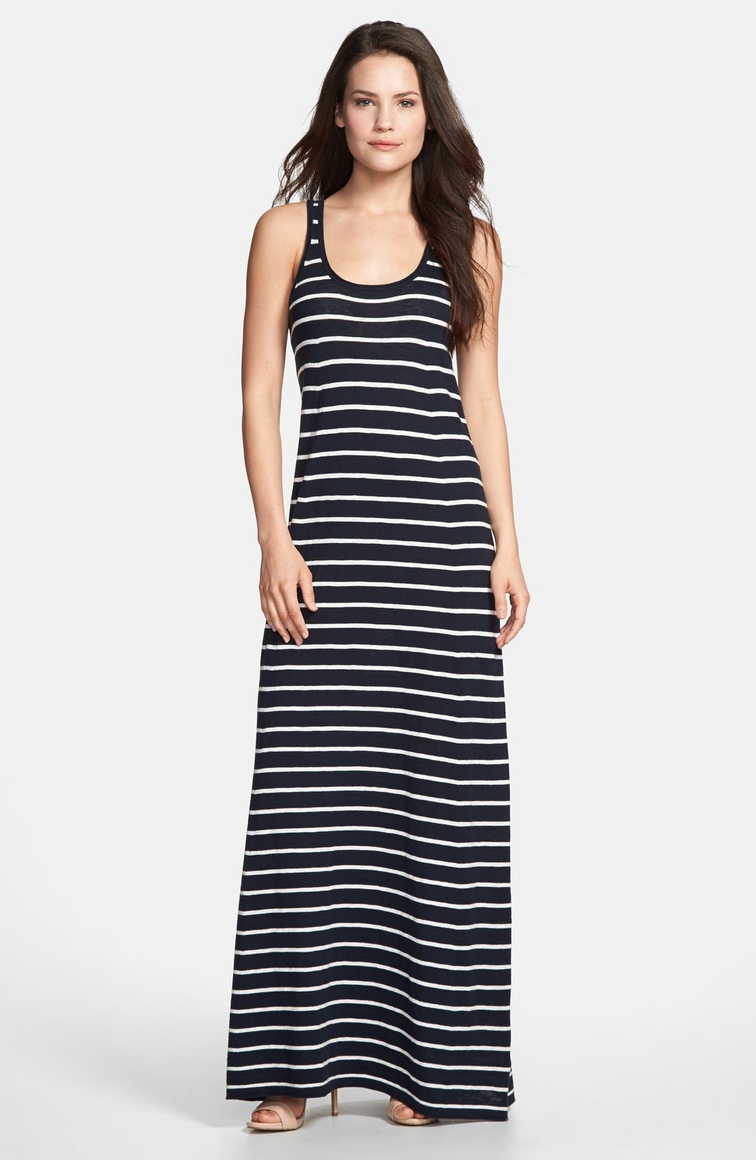 Alternate Image 1 Selected - Vince Stripe Maxi Dress