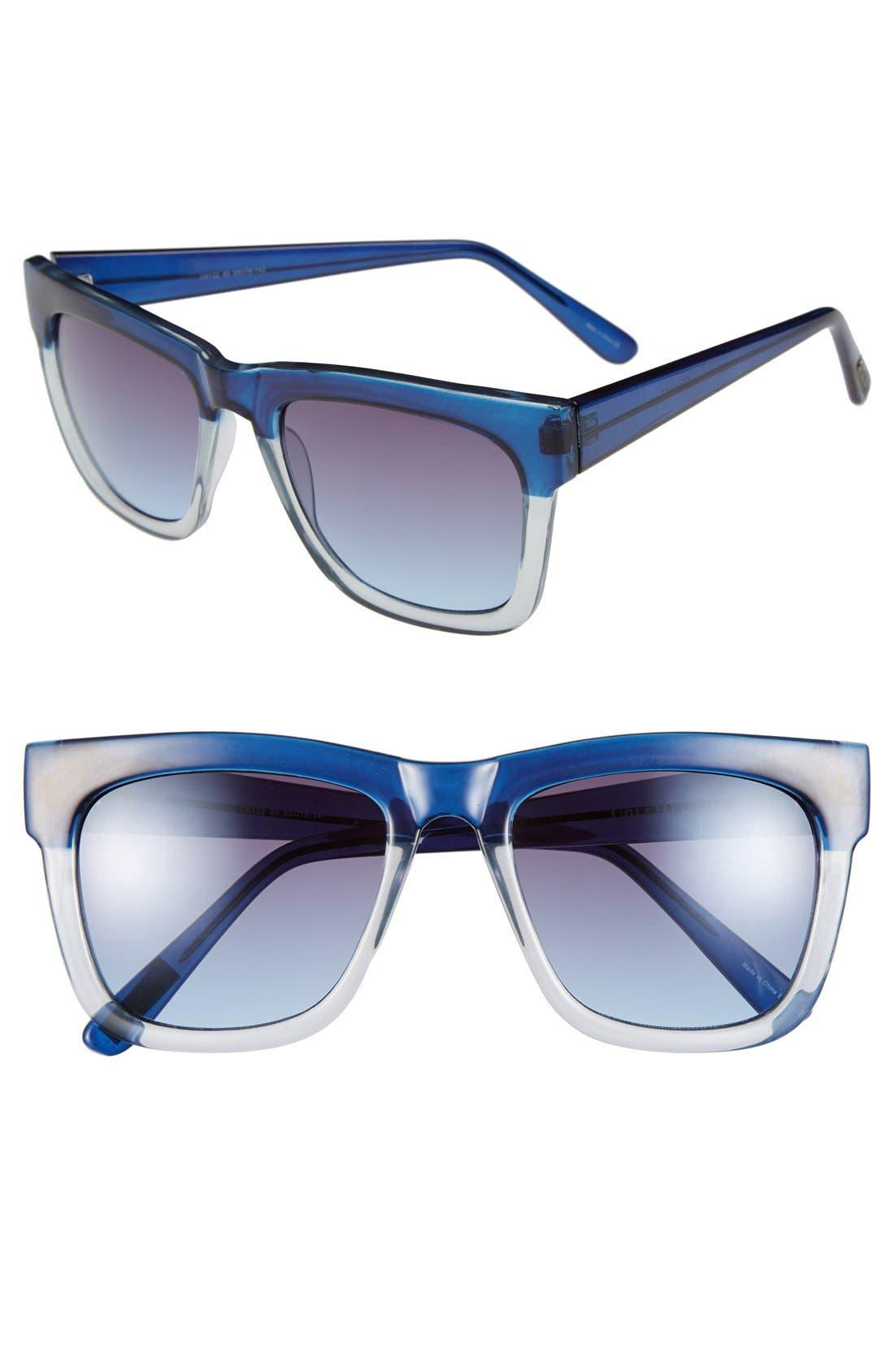 Alternate Image 1 Selected - Cole Haan 55mm Rectangular Sunglasses
