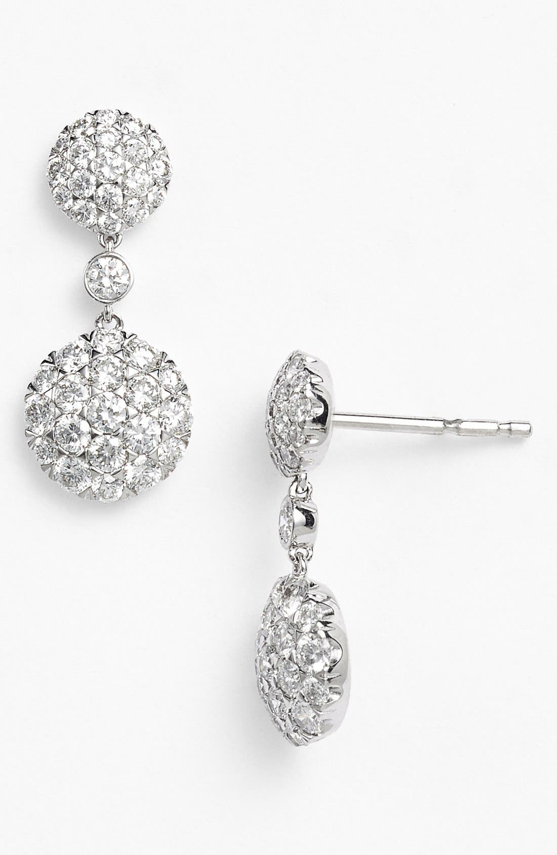 Main Image - Kwiat 'Moonrise' Diamond Drop Earrings