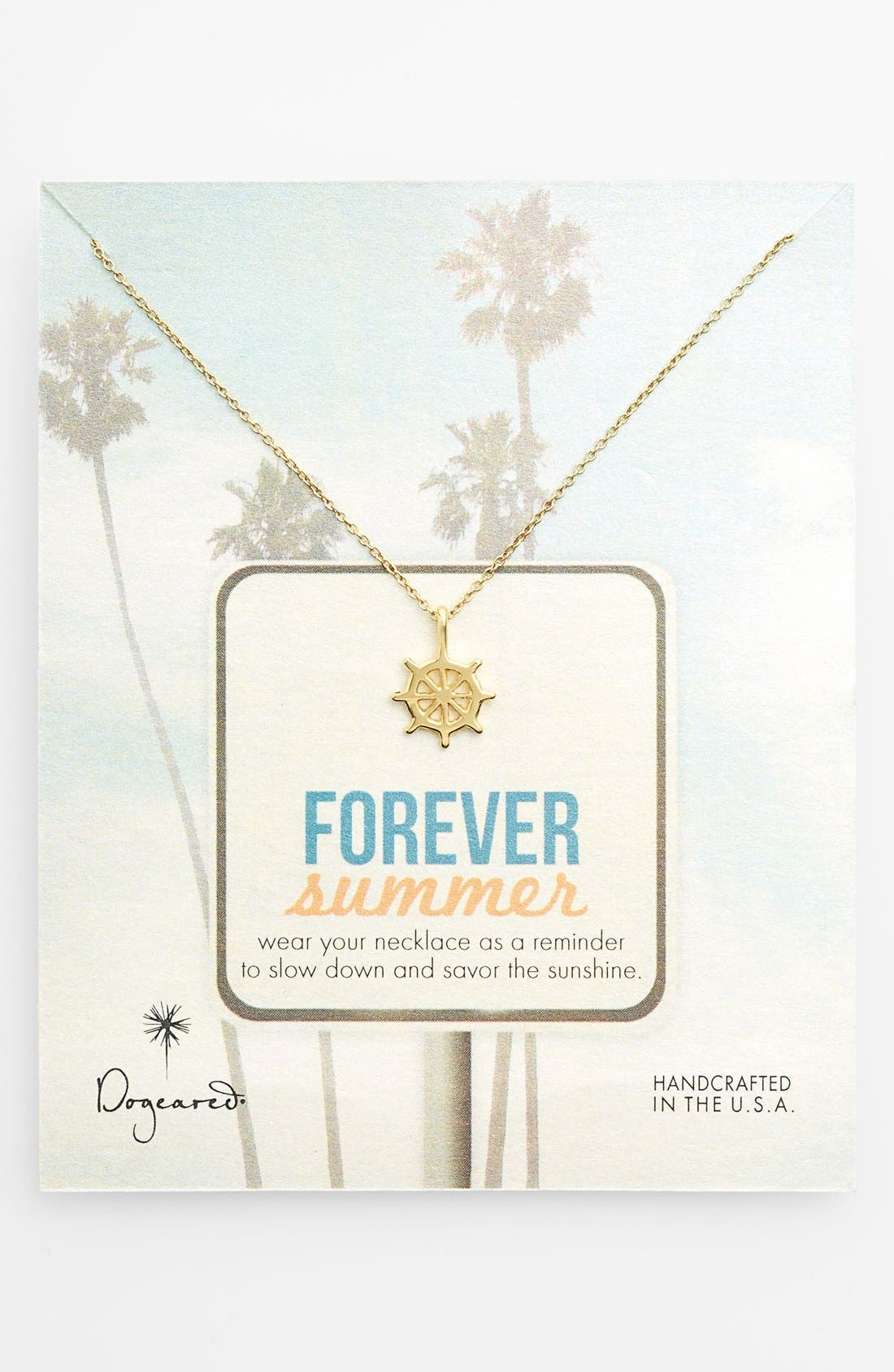 Main Image - Dogeared 'Forever Summer' Pendant Necklace