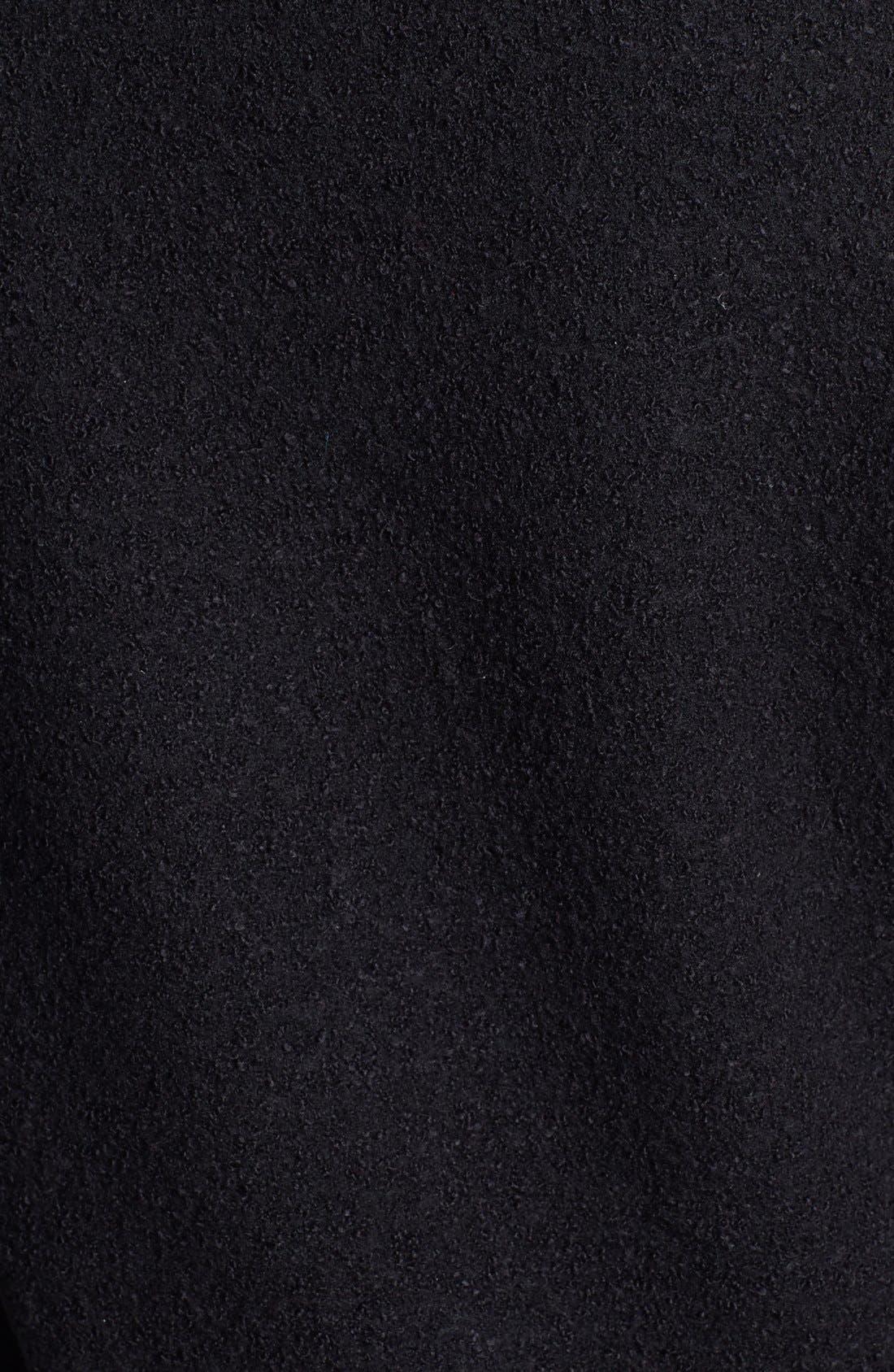 Alternate Image 3  - Halogen® Front Zip Sweater Jacket (Regular & Petite)
