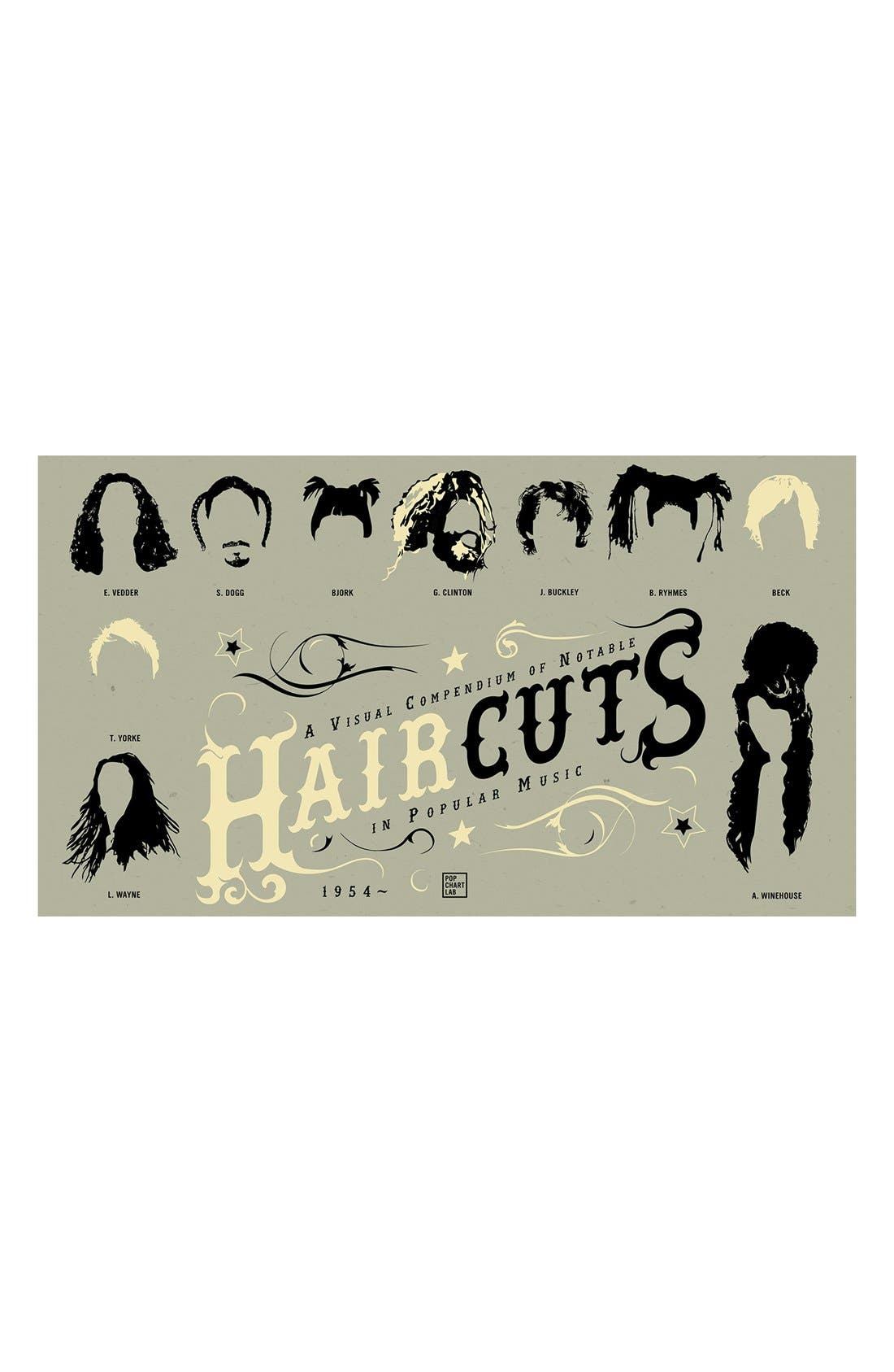 Alternate Image 4  - Pop Chart Lab 'Haircuts' Print