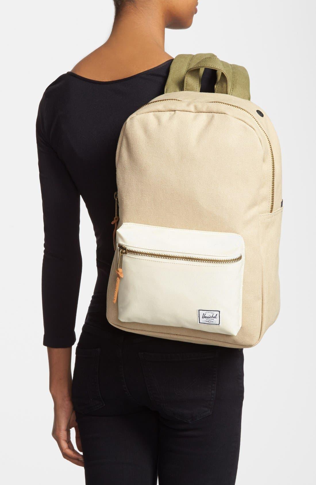 Alternate Image 2  - Herschel Supply Co. 'Settlement Mid-Volume' Canvas Laptop Backpack (13 Inch)