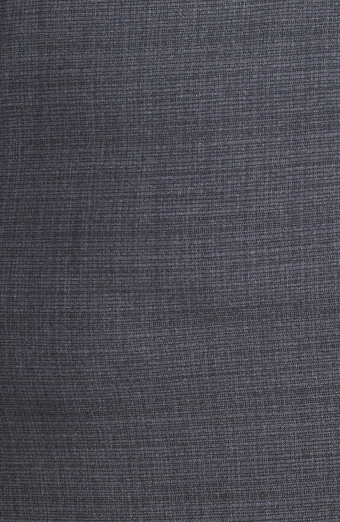 Alternate Image 3  - Sejour 'Charcoal Crosshatch' Suit Skirt (Plus Size)