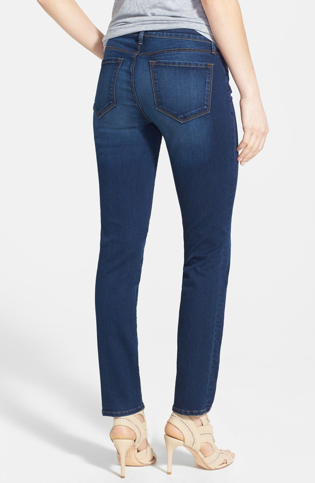 Alternate Image 2  - J Brand '811' Skinny Stretch Jeans (Saltwater)