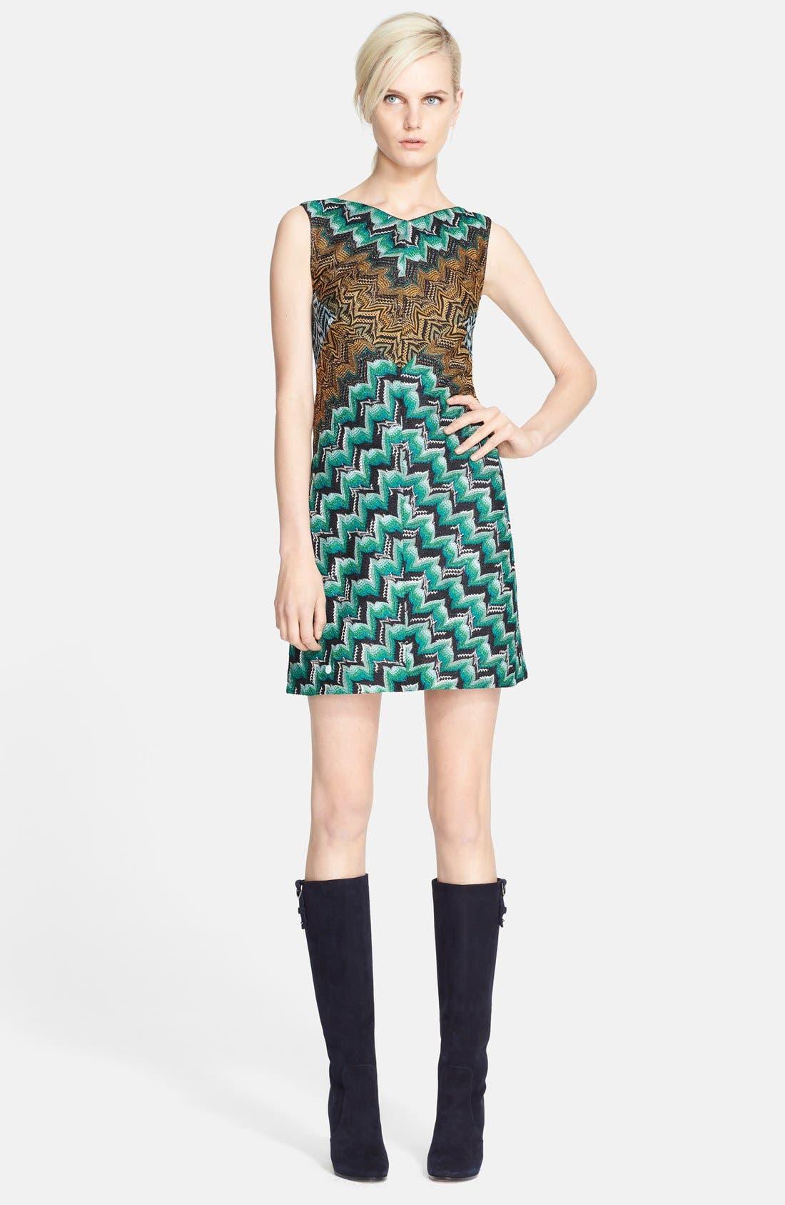 Alternate Image 1 Selected - Missoni Square Back Minidress