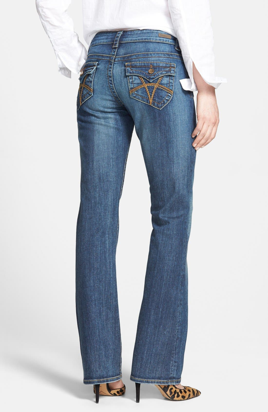 Alternate Image 2  - KUT from the Kloth 'Natalie' Bootcut Jeans (Black)