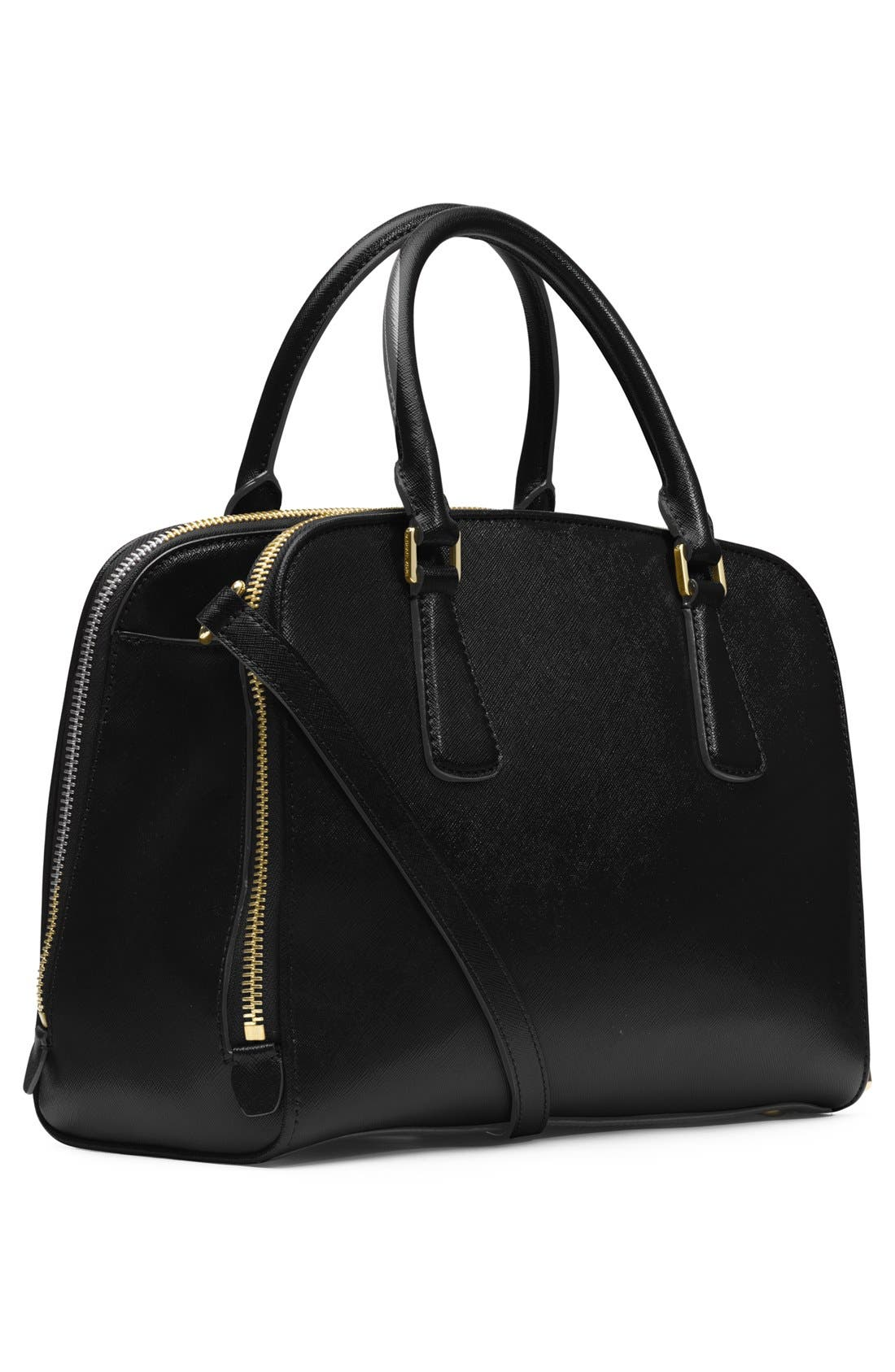 Alternate Image 4  - MICHAEL Michael Kors 'Large Reese' Saffiano Leather Satchel
