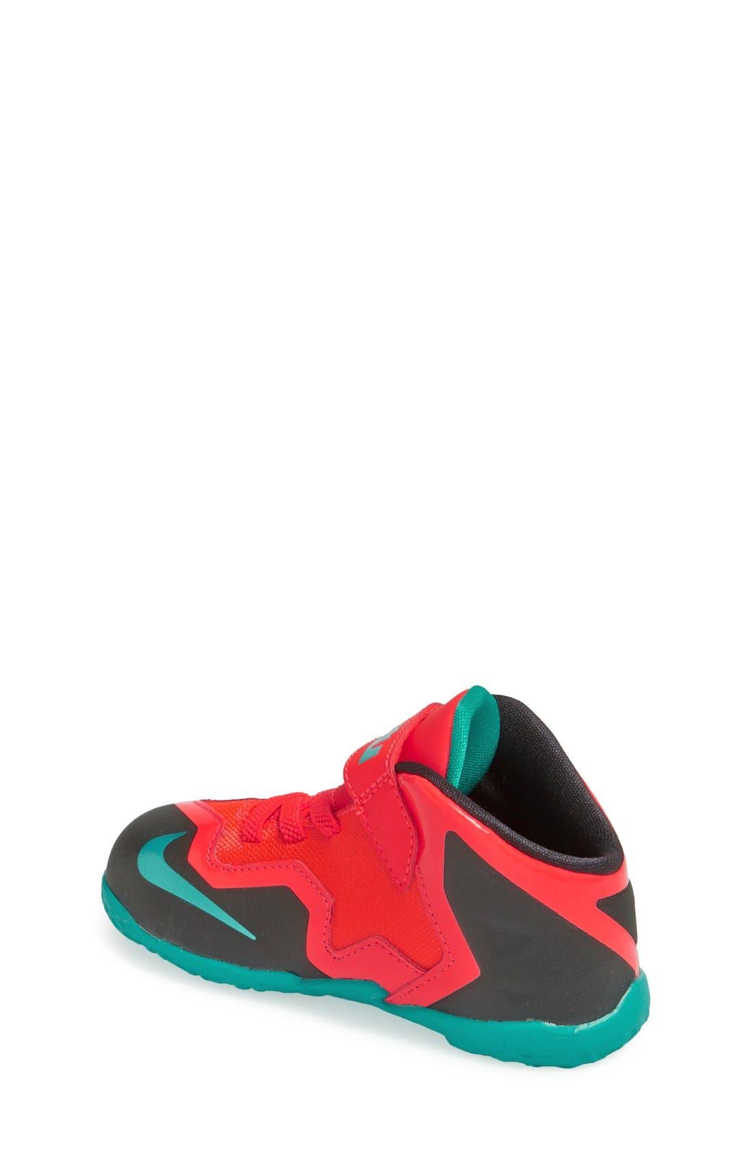 Alternate Image 2  - Nike 'LeBron XI' Sneaker (Walker & Toddler)