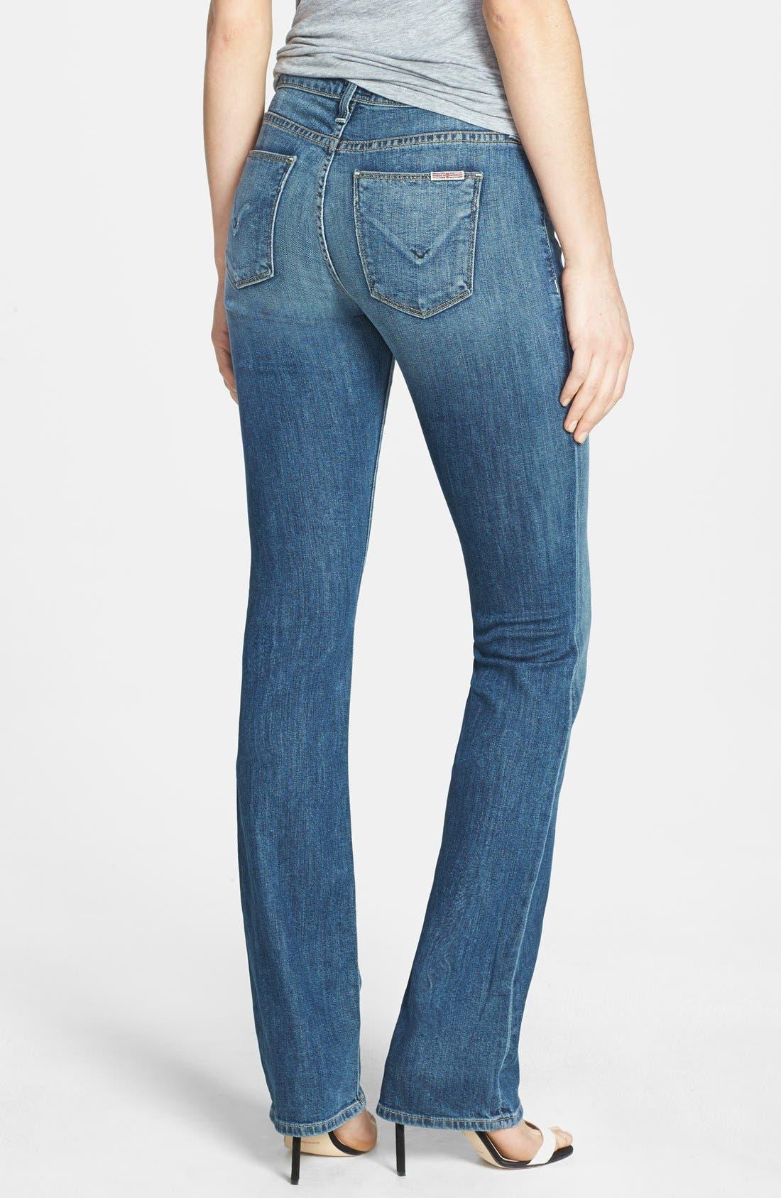 Alternate Image 2  - Hudson Jeans 'Elle' Baby Bootcut Jeans (Hackney)
