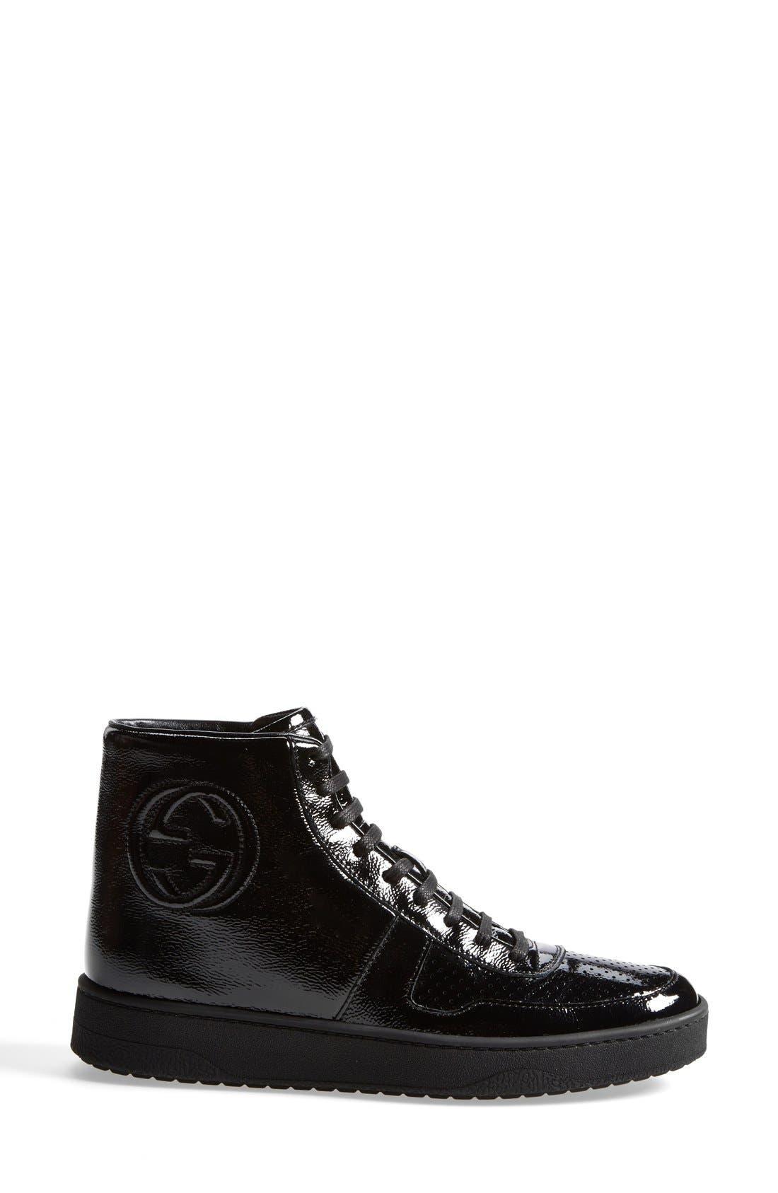 Alternate Image 4  - Gucci 'Soho' High Top Sneaker (Women)