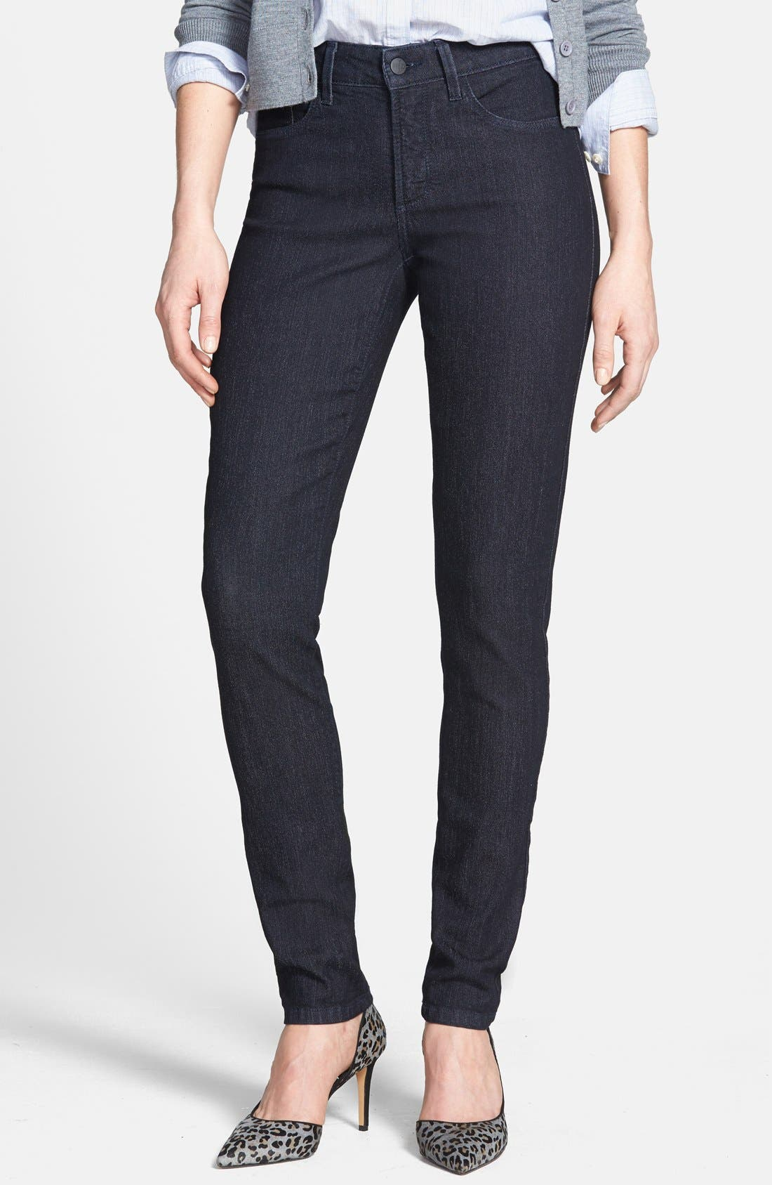 Alternate Image 1 Selected - NYDJ 'Ami' Stretch Super Skinny Jeans (Irving) (Online Only)