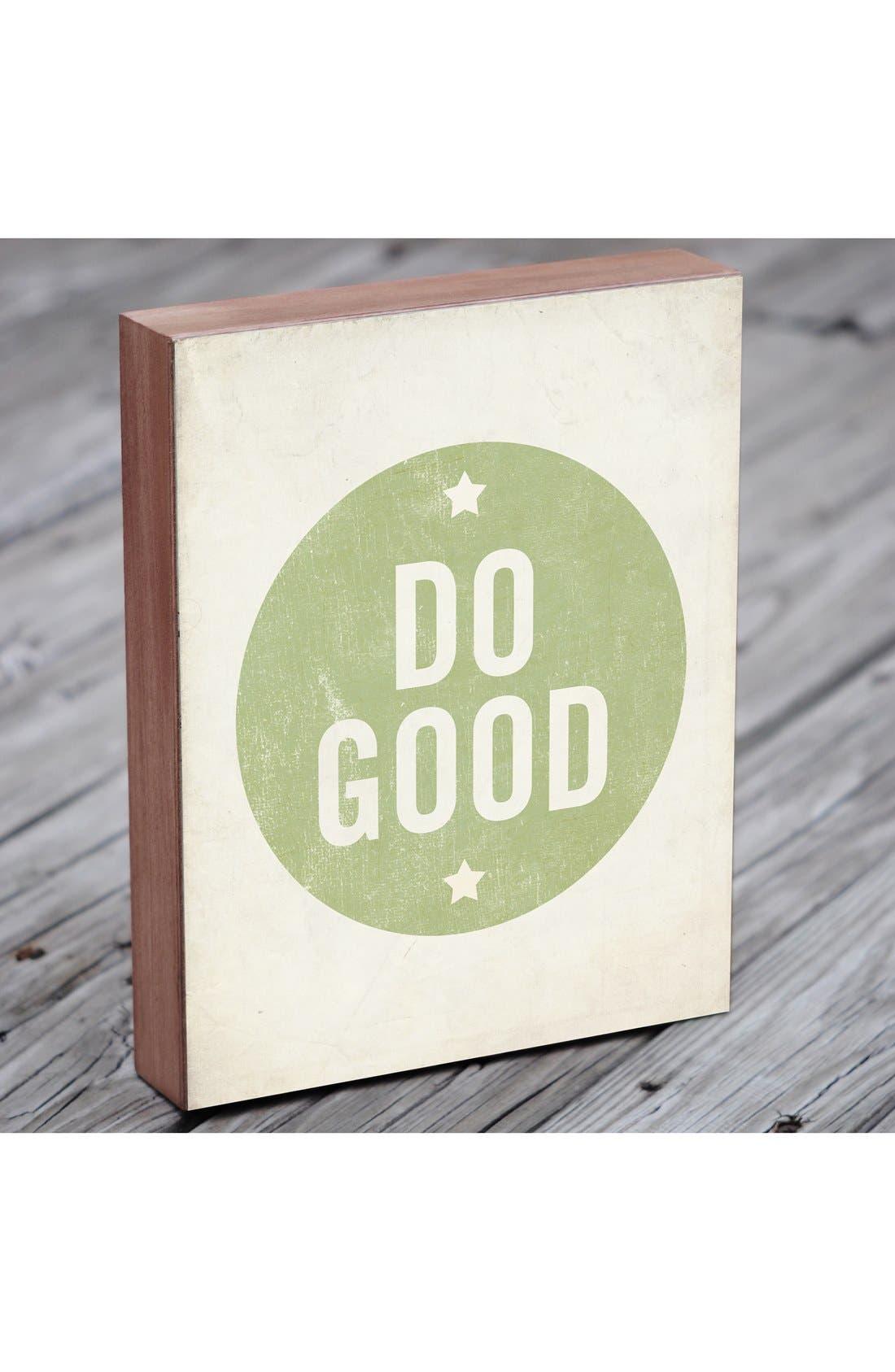 Alternate Image 3  - Lucius Designs 'Do Good' Wall Art