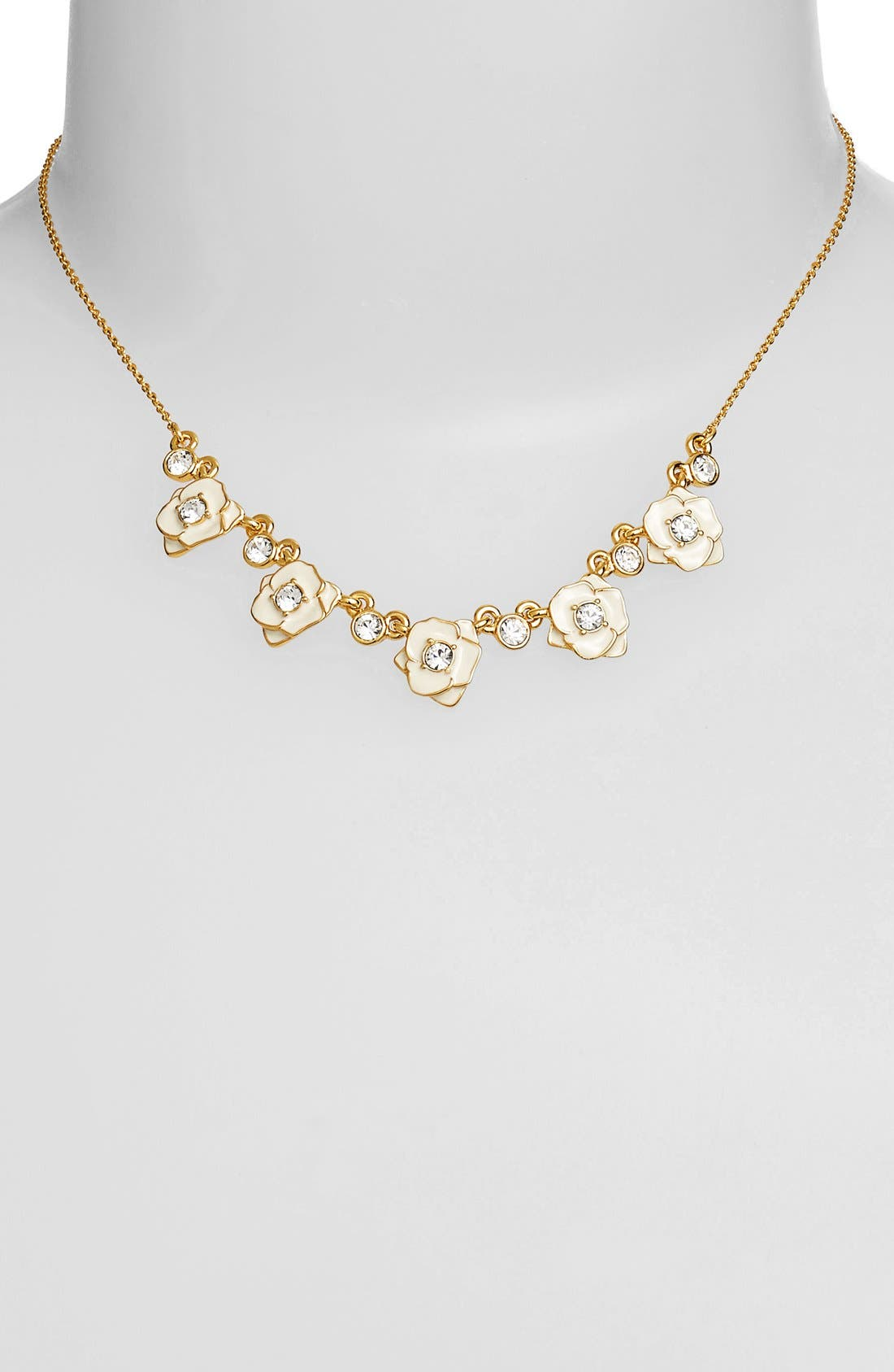 Main Image - kate spade new york 'rose garden' mini collar necklace