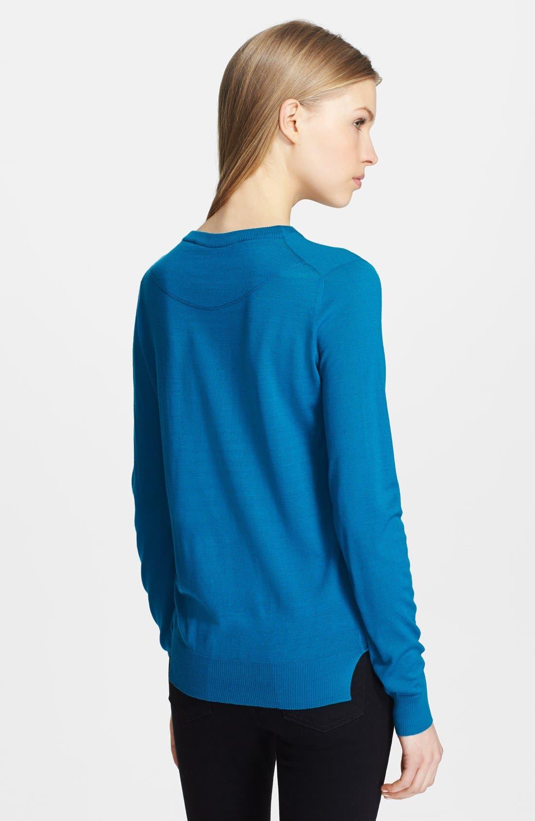 Alternate Image 2  - Proenza Schouler Superfine Merino Wool Sweater