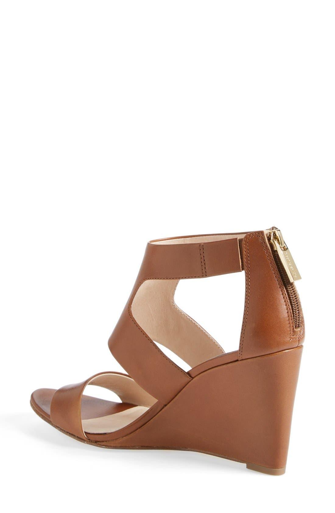 Alternate Image 2  - Louise et Cie 'Rozza' Leather Wedge Sandal (Women)
