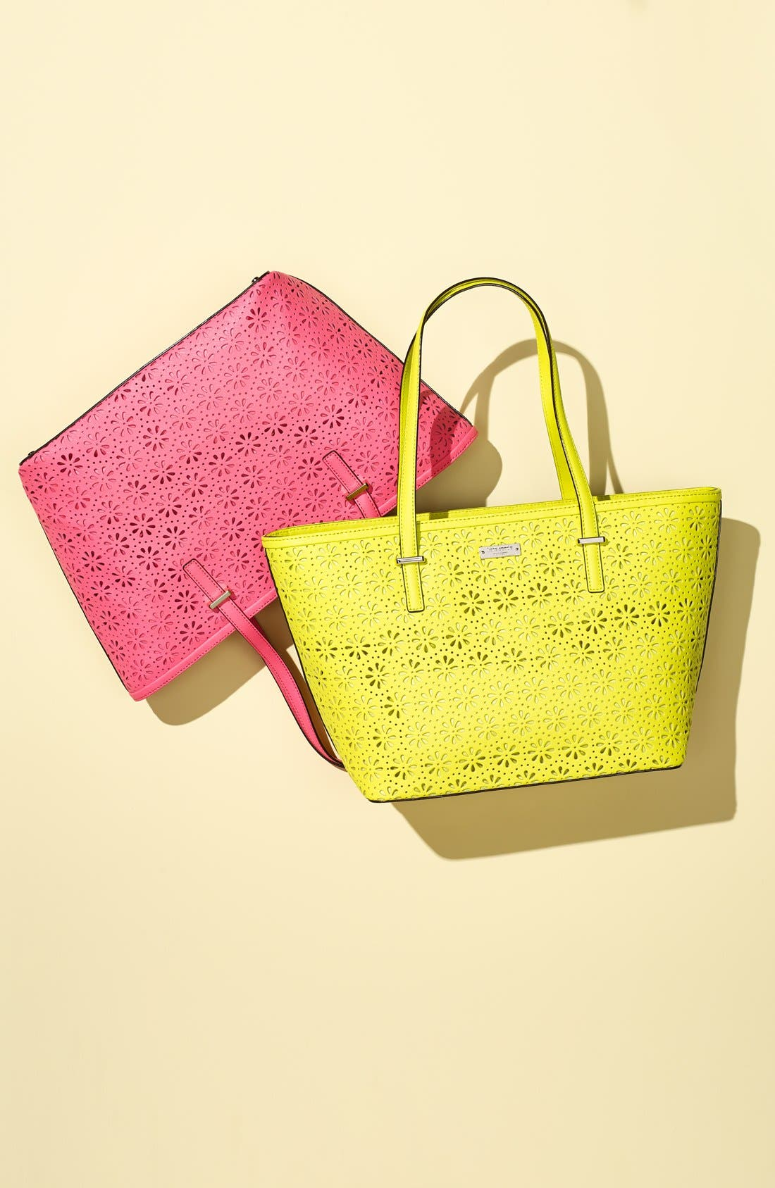 Alternate Image 7  - kate spade new york 'small cedar street - harmony' perforated leather tote