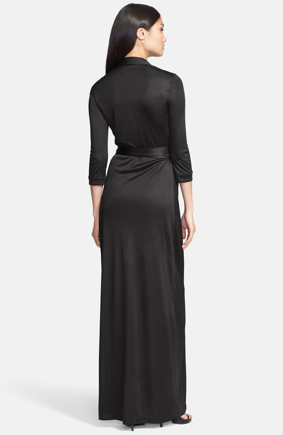 Alternate Image 2  - Diane von Furstenberg 'Abigail' Wrap Maxi Dress
