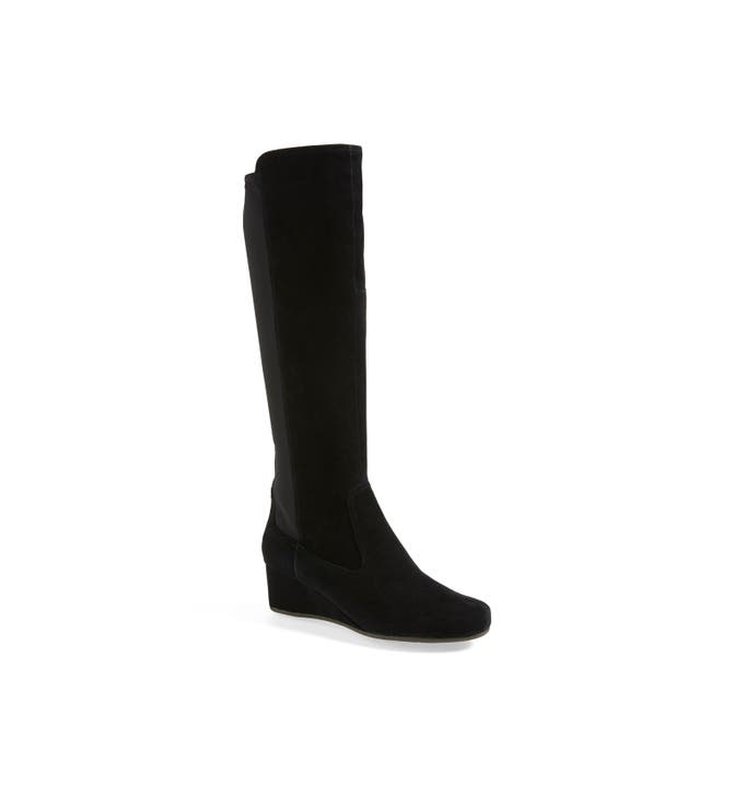 Rockport 'Total Motion' Knee High Wedge Boot (Women) | Nordstrom
