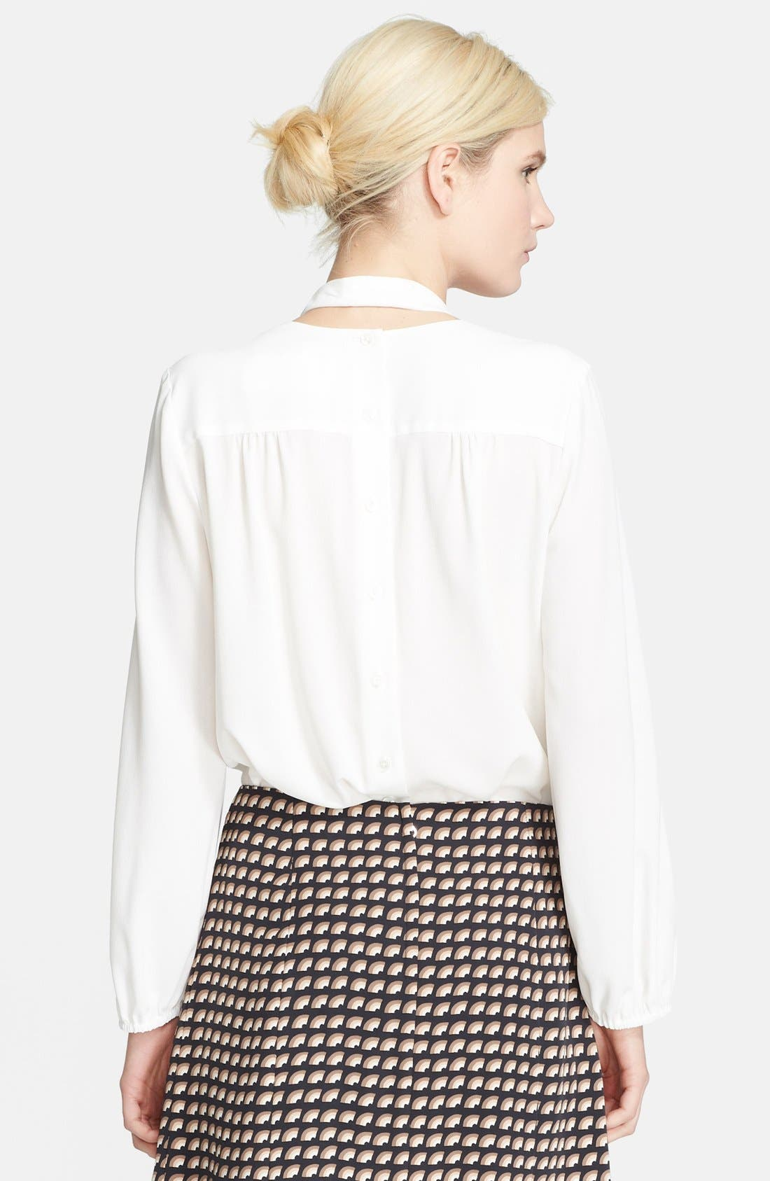 Alternate Image 2  - MARC JACOBS Button Front Silk Blouse
